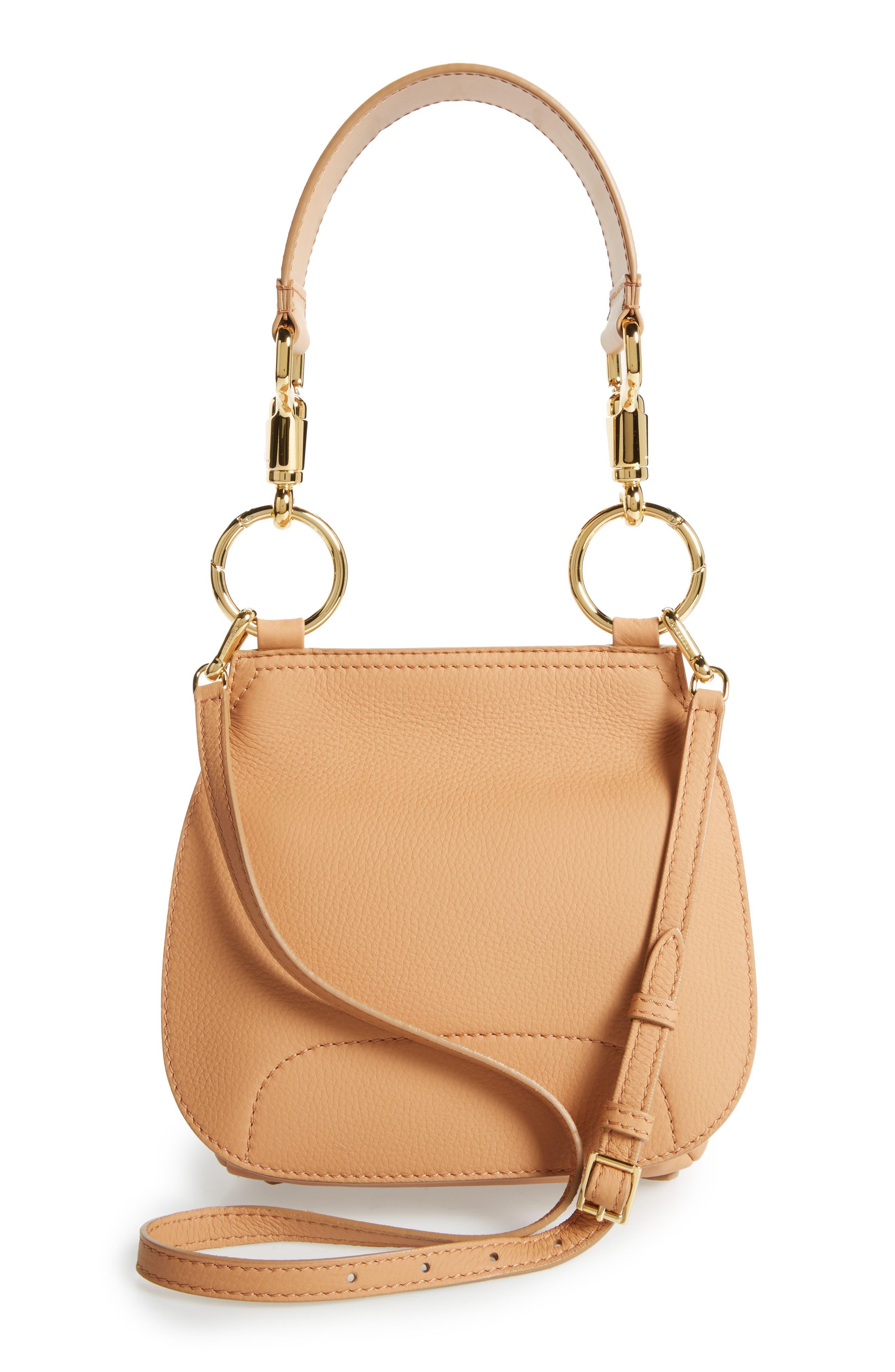 Bridle Deerskin Shoulder Bag,                             Alternate thumbnail 3, color,                             835