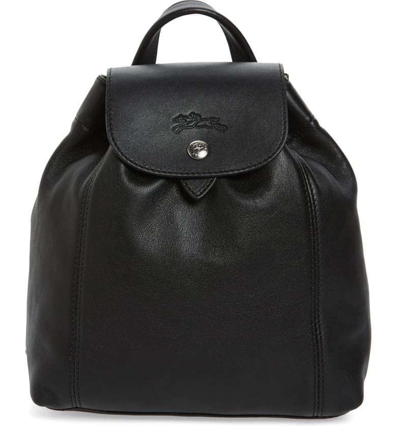Longchamp Extra Small Le Pliage Cuir Backpack  24a911f40a415