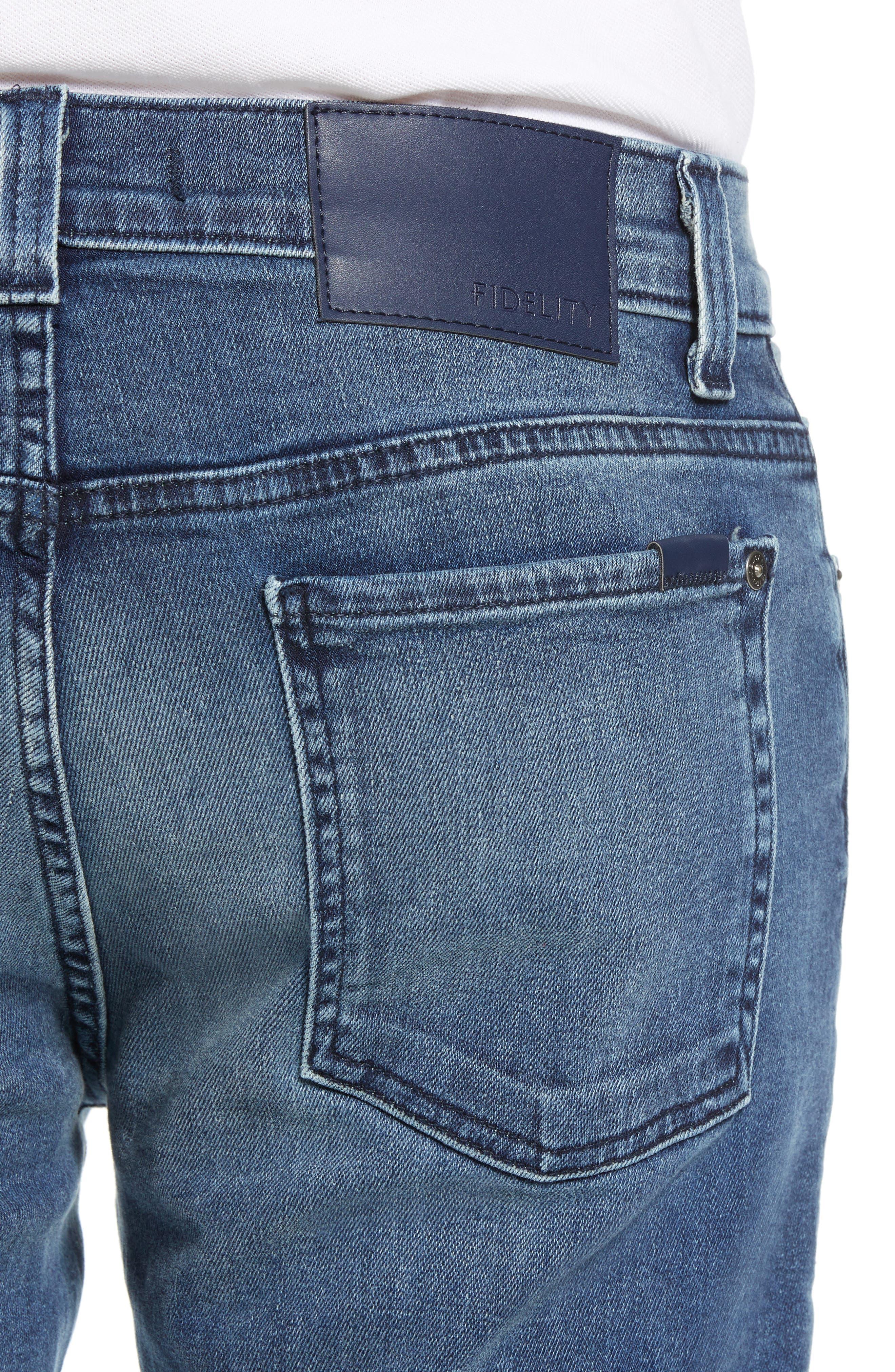 Torino Slim Fit Jeans,                             Alternate thumbnail 4, color,                             EMPIRE BLUE
