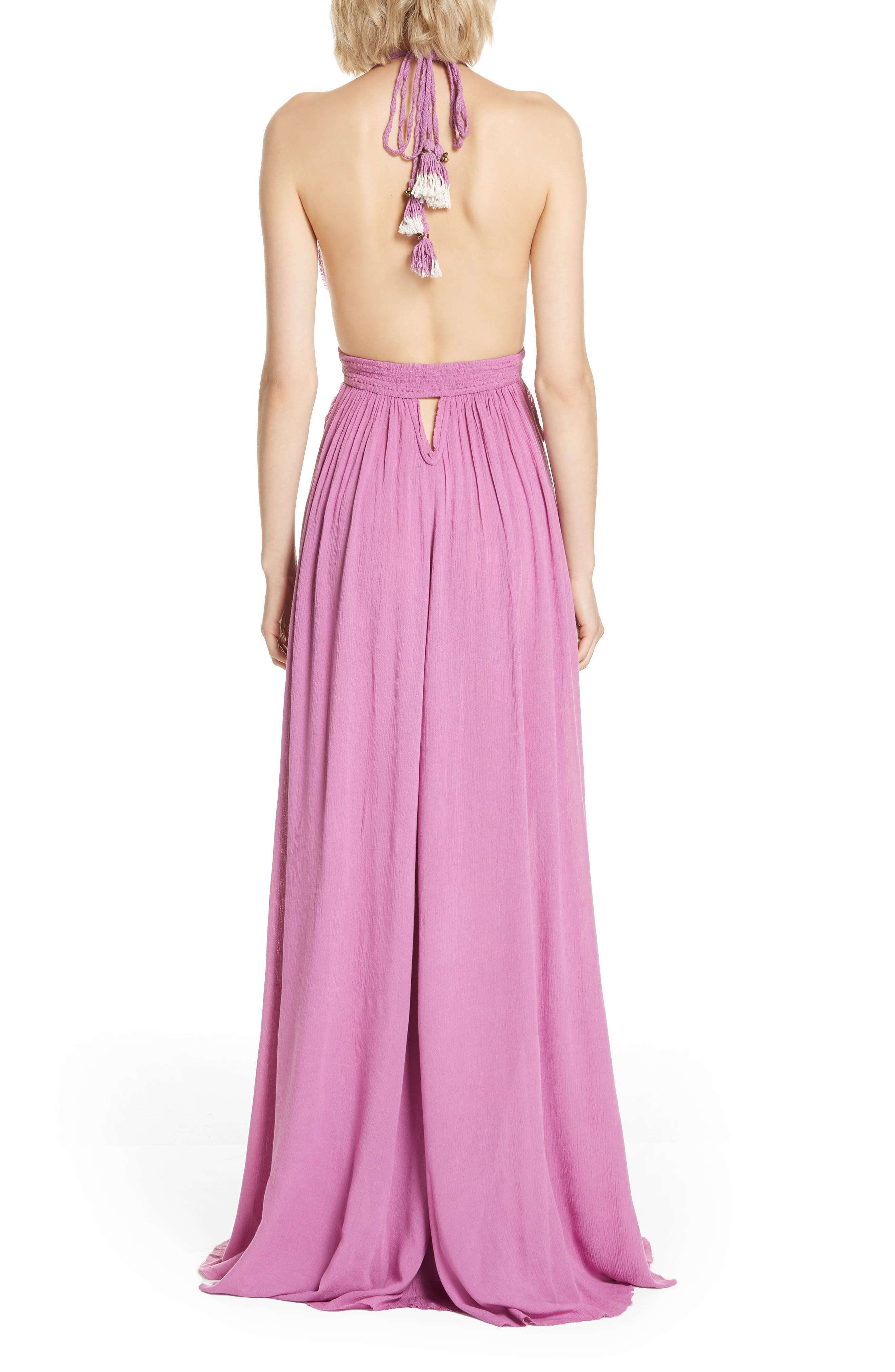 Endless Summer by Free People Look into the Sun Maxi Dress,                             Alternate thumbnail 2, color,                             VIOLET