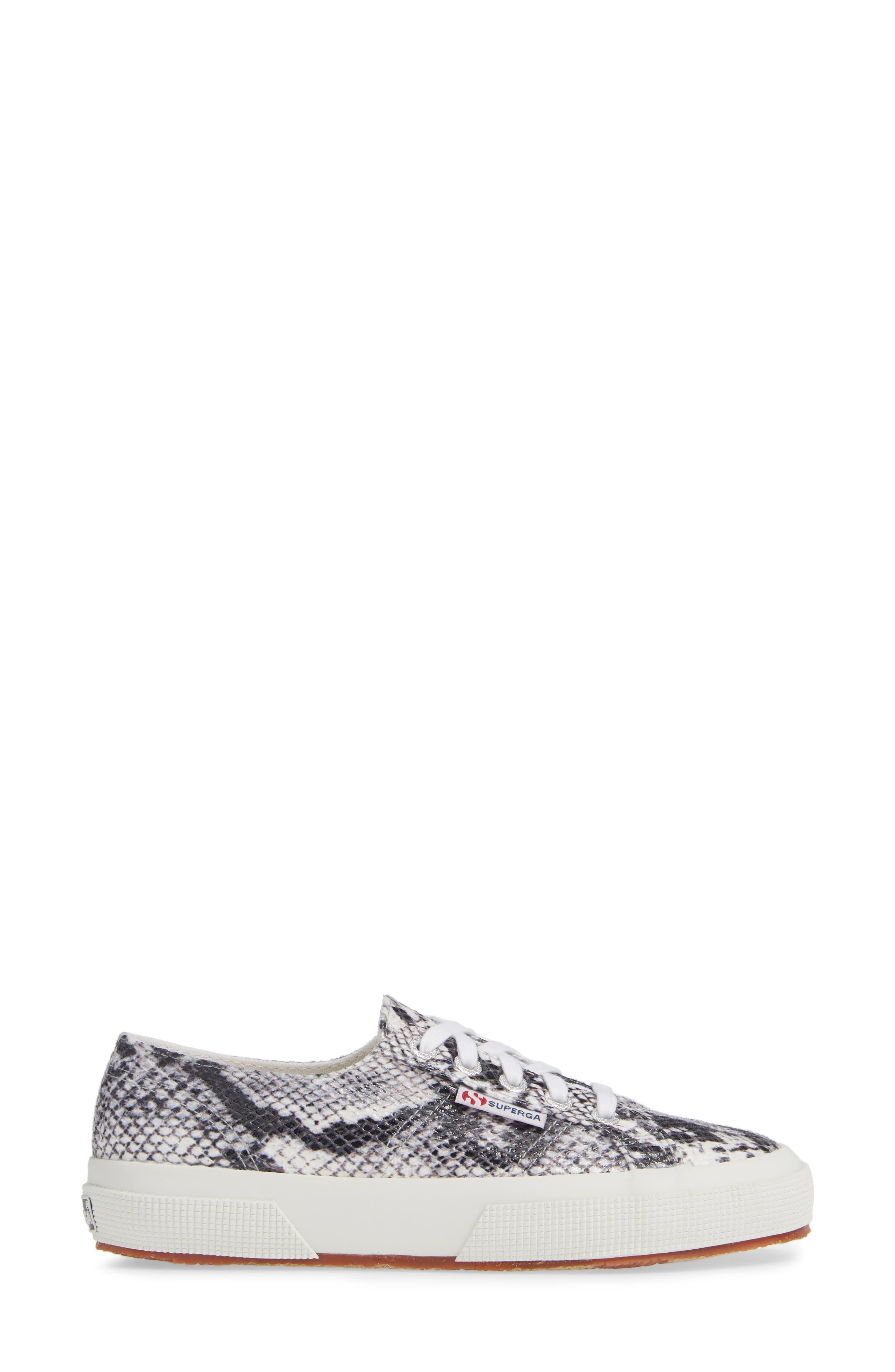 'Cotu' Sneaker,                             Alternate thumbnail 3, color,                             NATURAL SNAKE PRINT