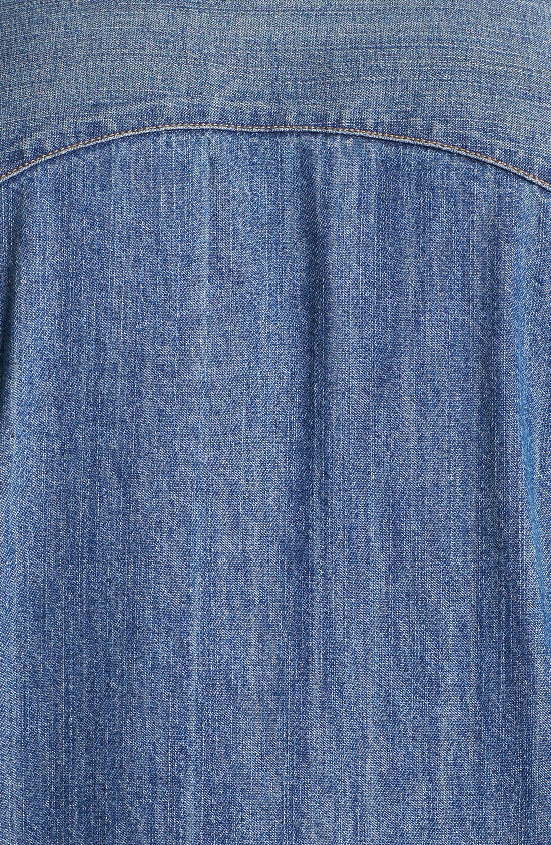 LEVI'S<SUP>®</SUP>,                             'Barstow' Western Denim Shirt,                             Alternate thumbnail 4, color,                             462