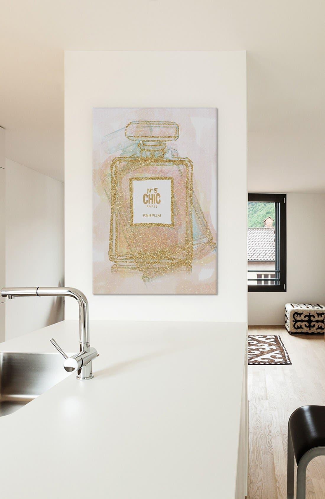 'Chic Bottle I' Giclée Print Canvas Art,                             Alternate thumbnail 2, color,                             710