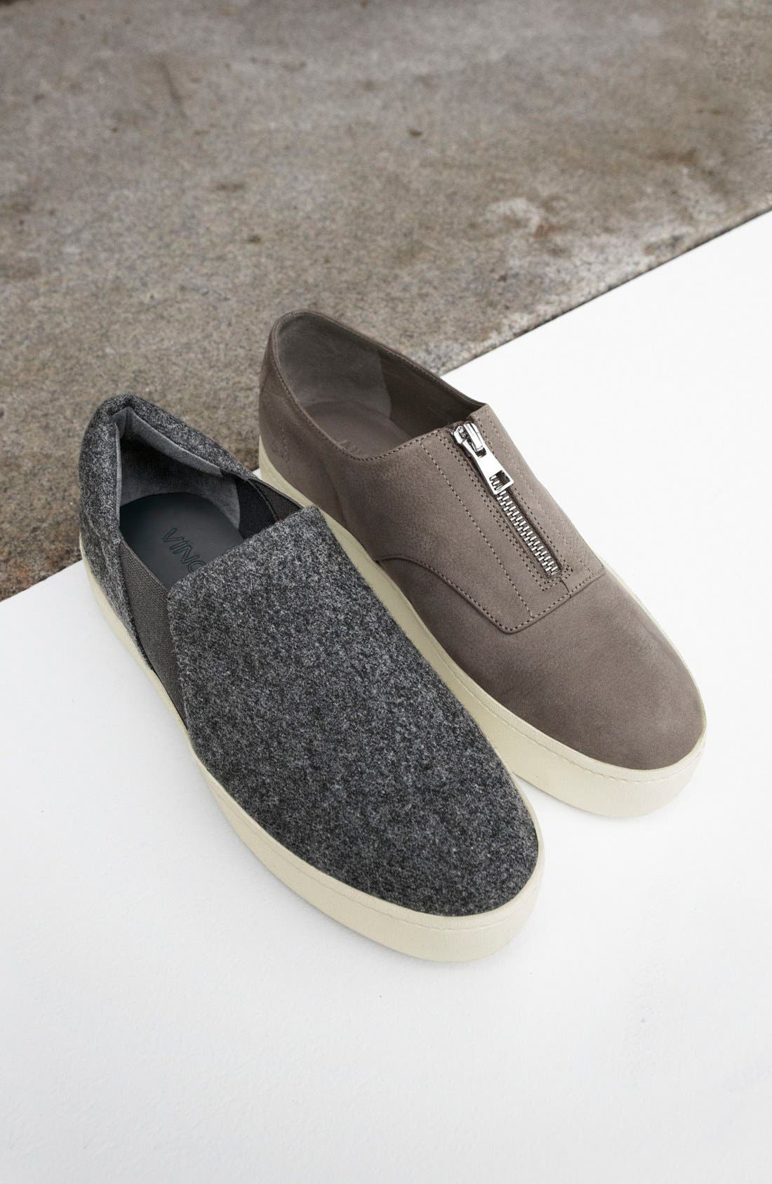 Warren Slip-On Sneaker in Ecru