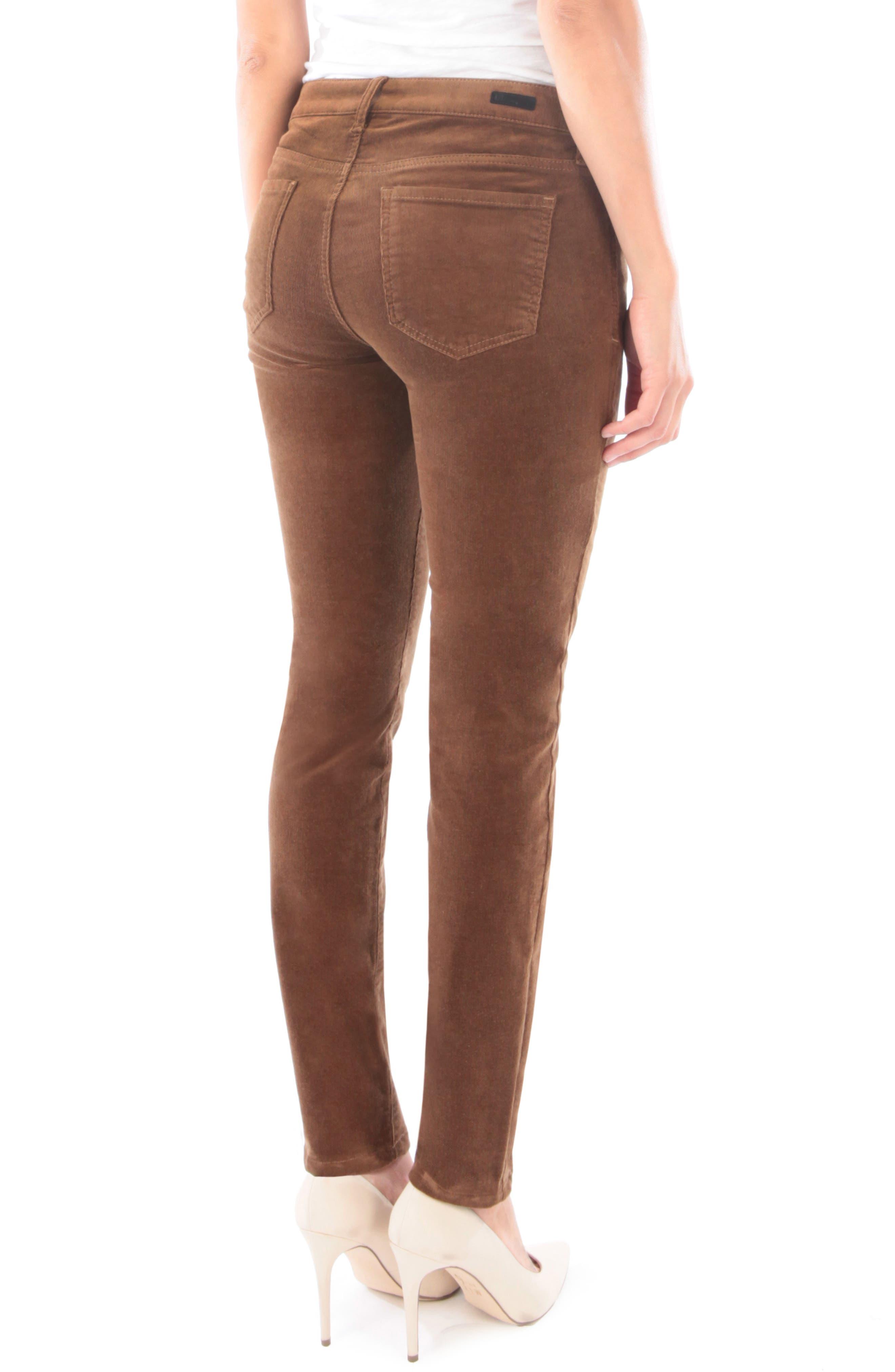 'Diana' Stretch Corduroy Skinny Pants,                             Alternate thumbnail 68, color,