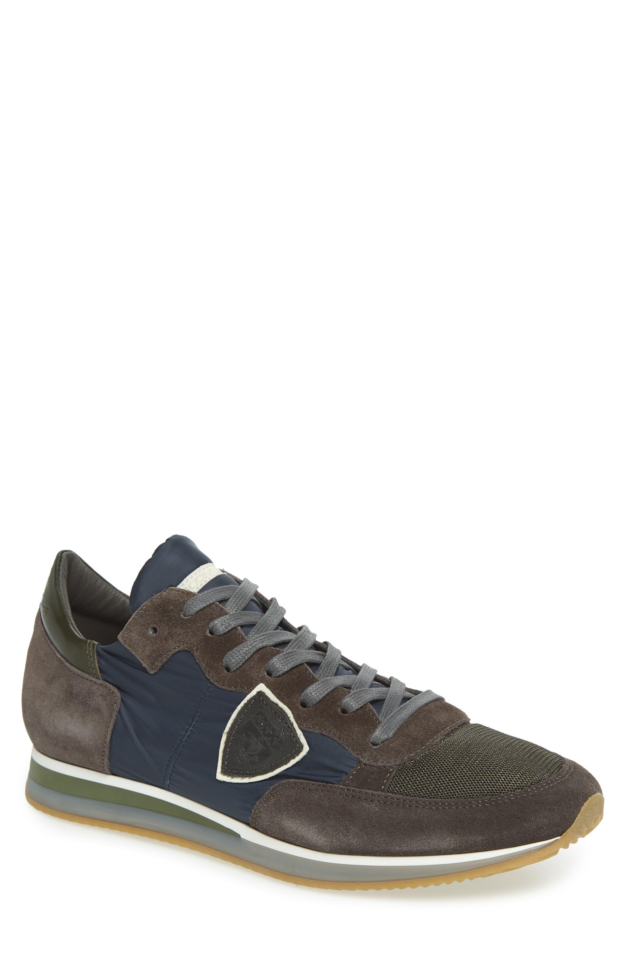 Tropez Low Top Sneaker,                             Main thumbnail 1, color,                             BLUE/ GREY