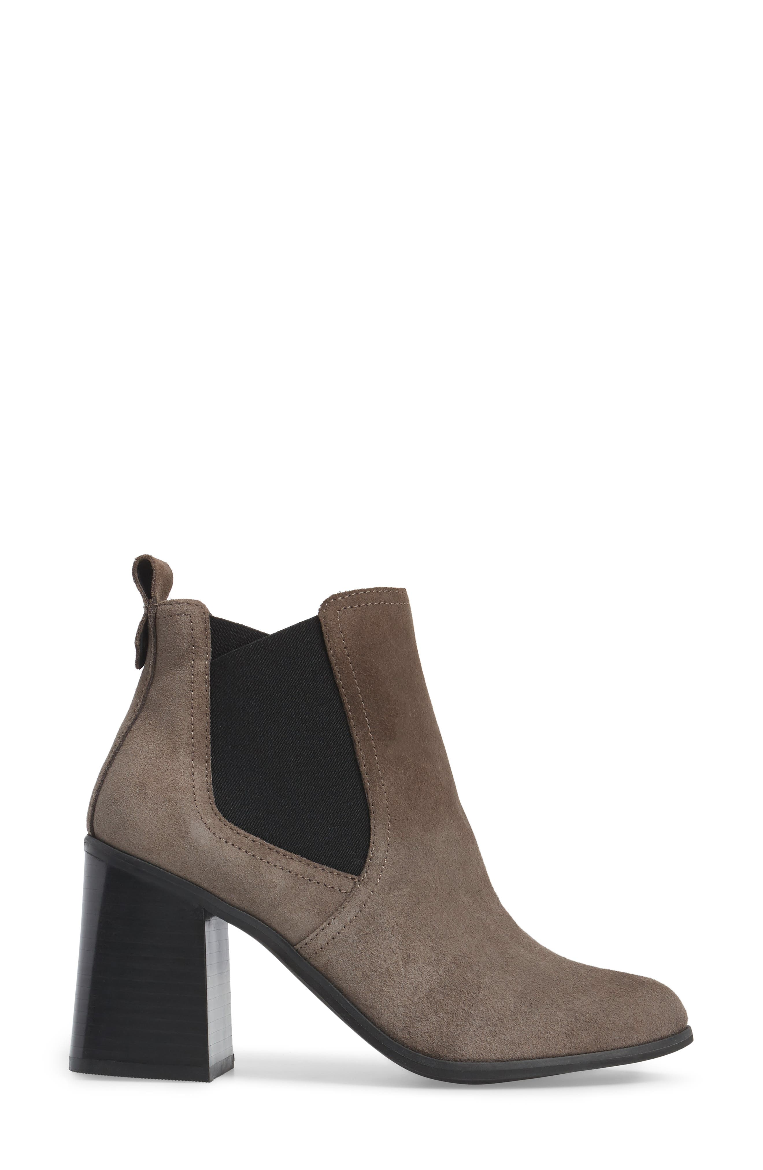 Quinn Flared Heel Chelsea Bootie,                             Alternate thumbnail 13, color,