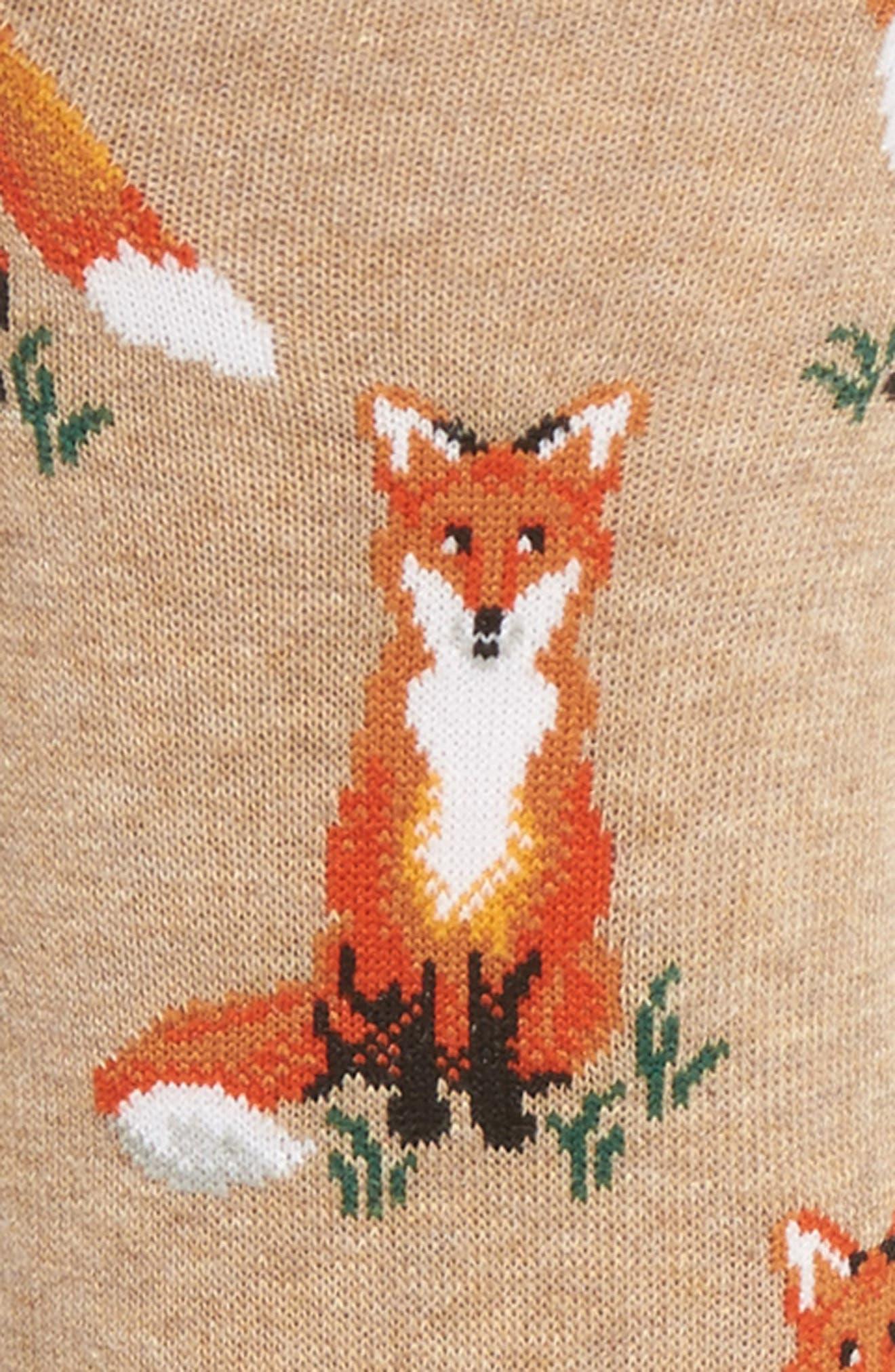 Fox Socks,                             Alternate thumbnail 2, color,                             130