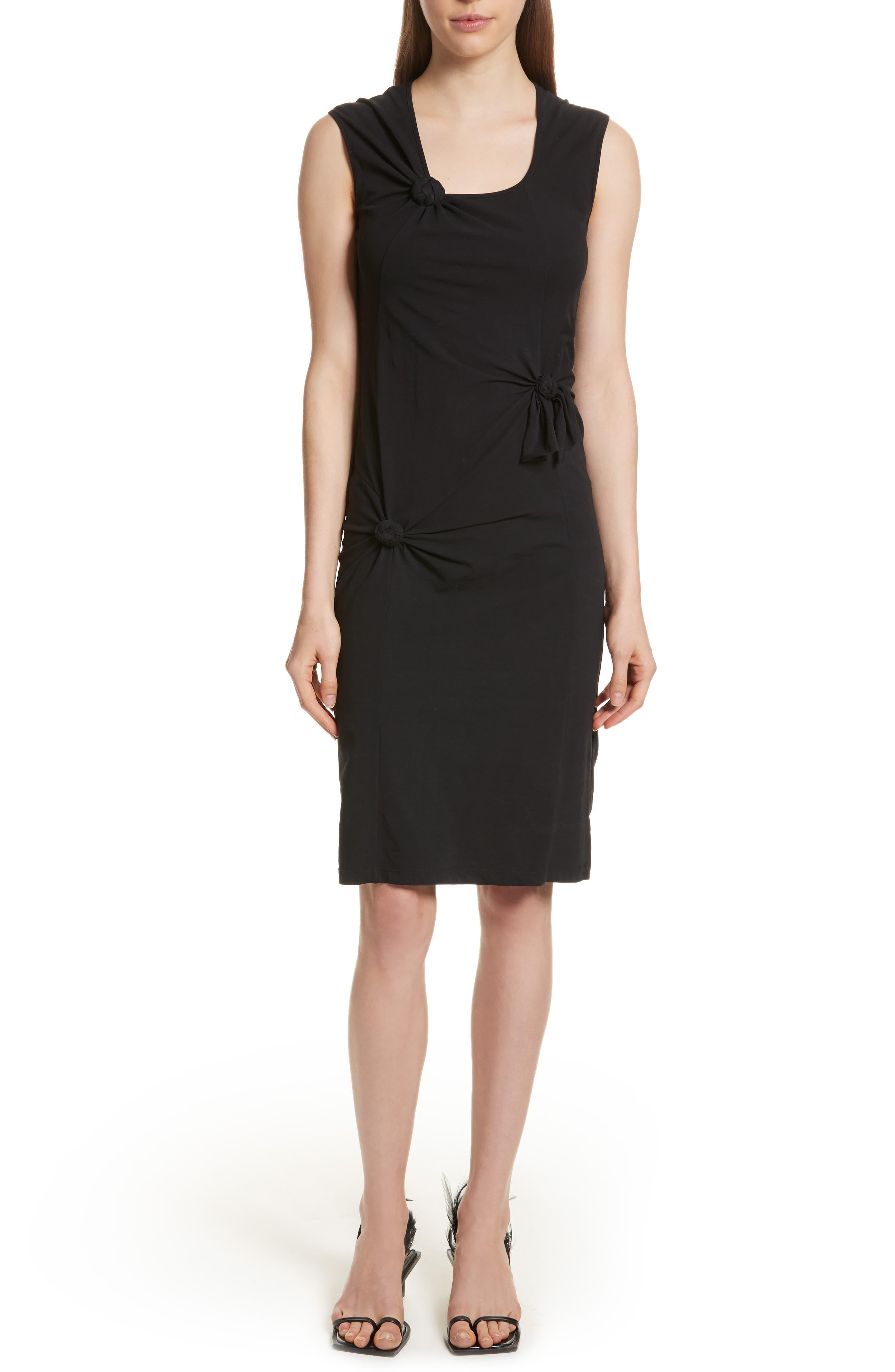 Knot Detail Dress,                         Main,                         color, 001