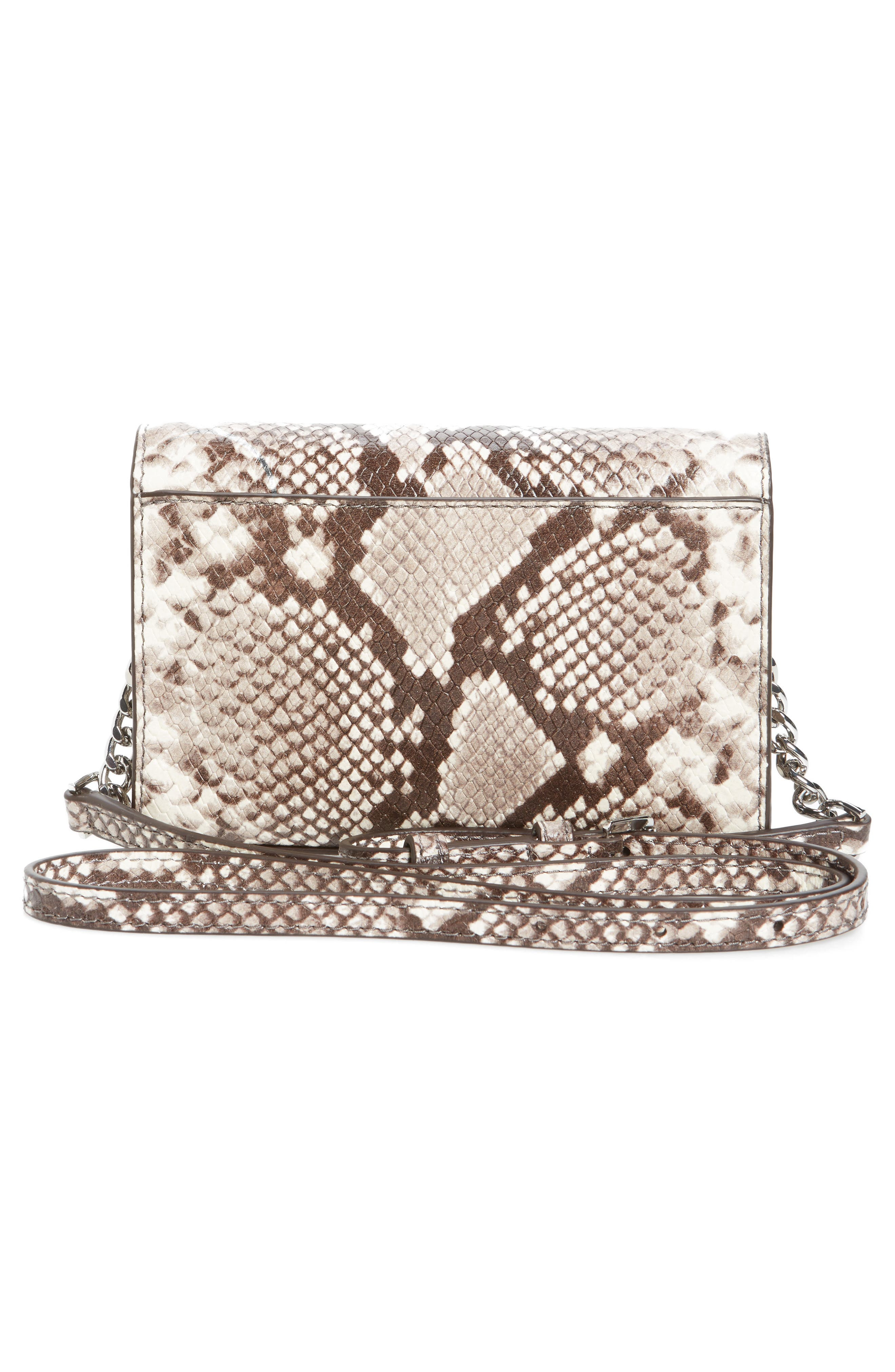 Ruby Leather Clutch,                             Alternate thumbnail 3, color,                             269