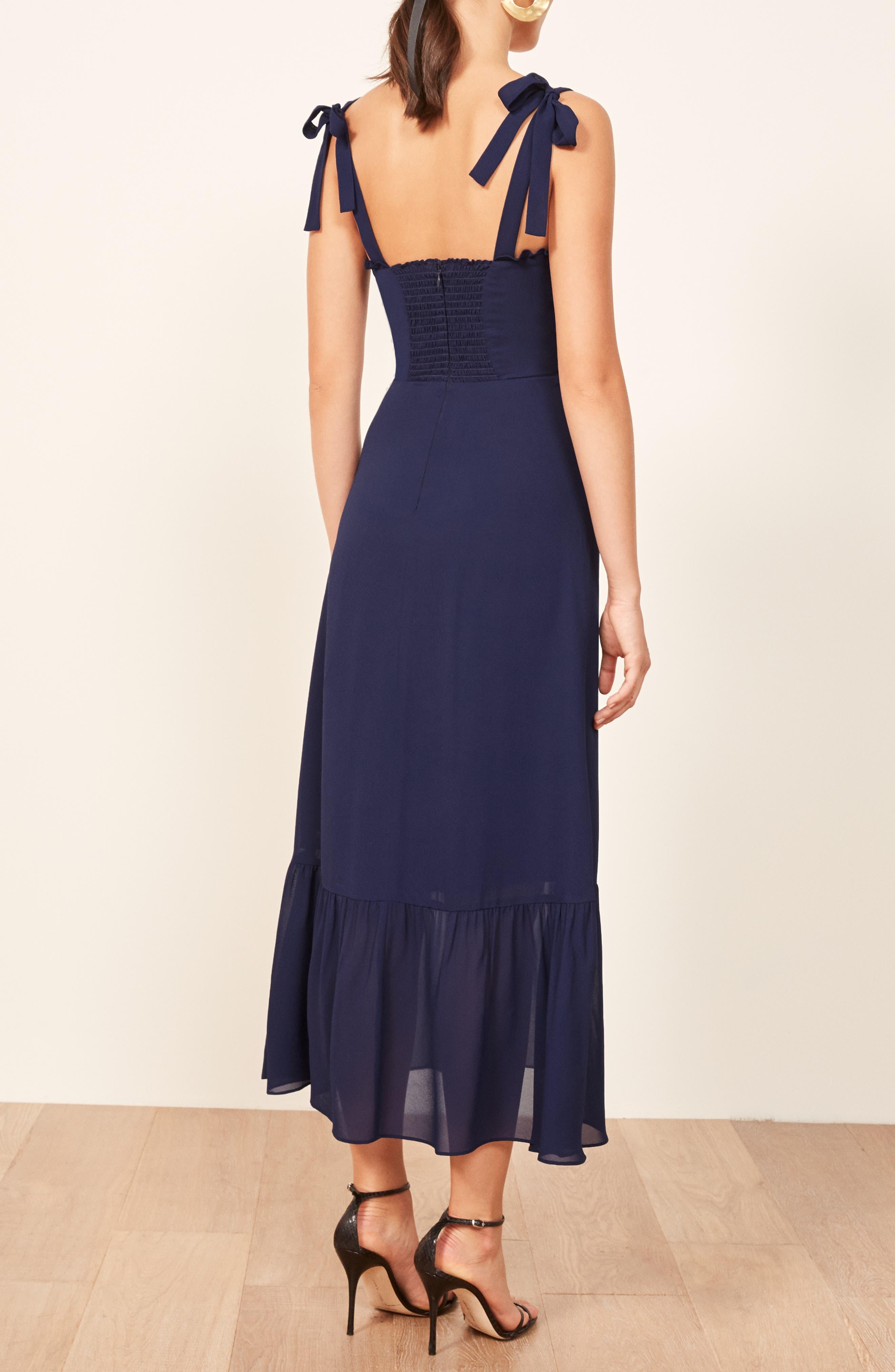 Nikita Floral Midi Dress,                             Alternate thumbnail 2, color,                             400