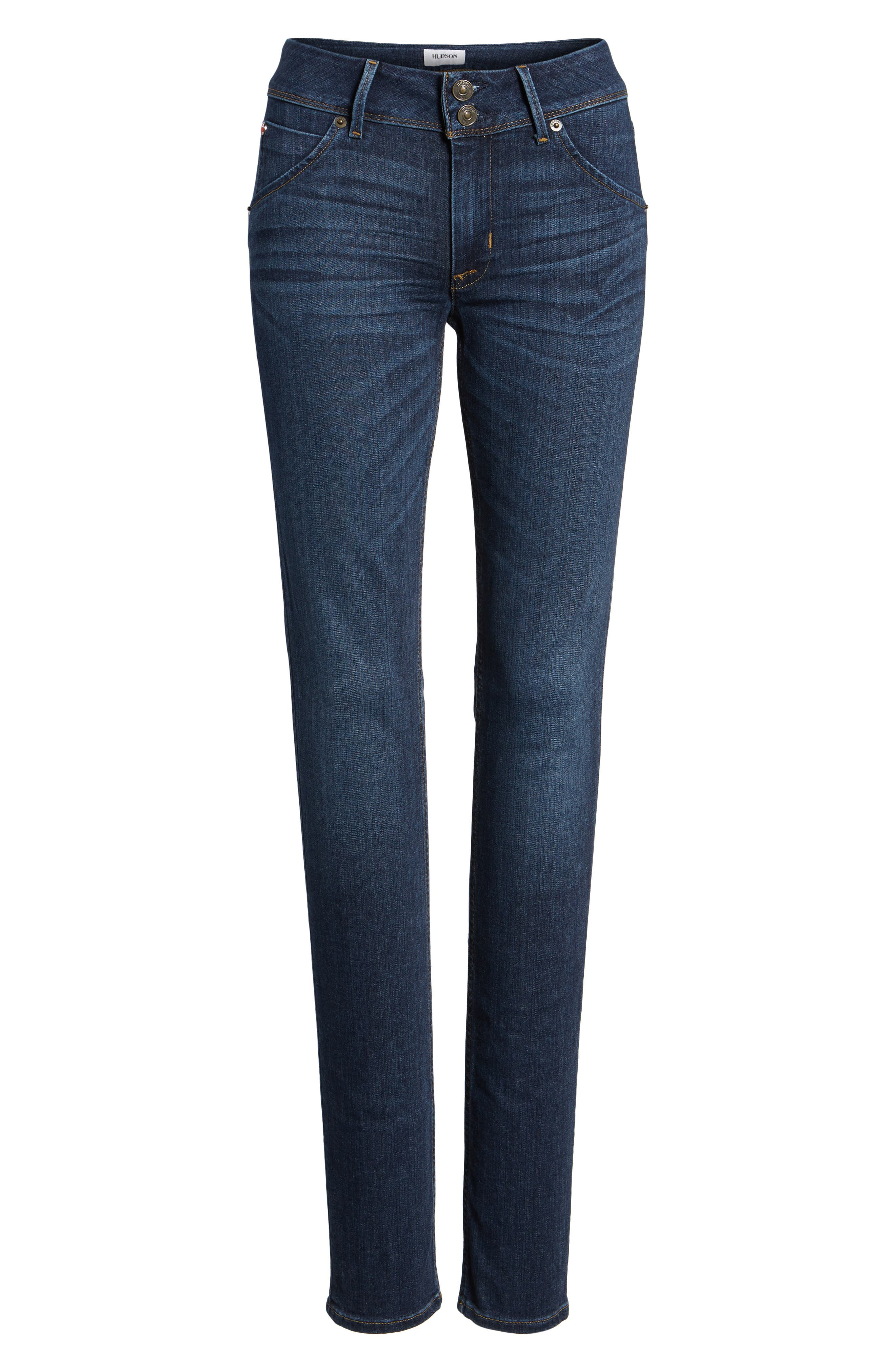 Collin Supermodel Skinny Jeans,                             Alternate thumbnail 6, color,                             422