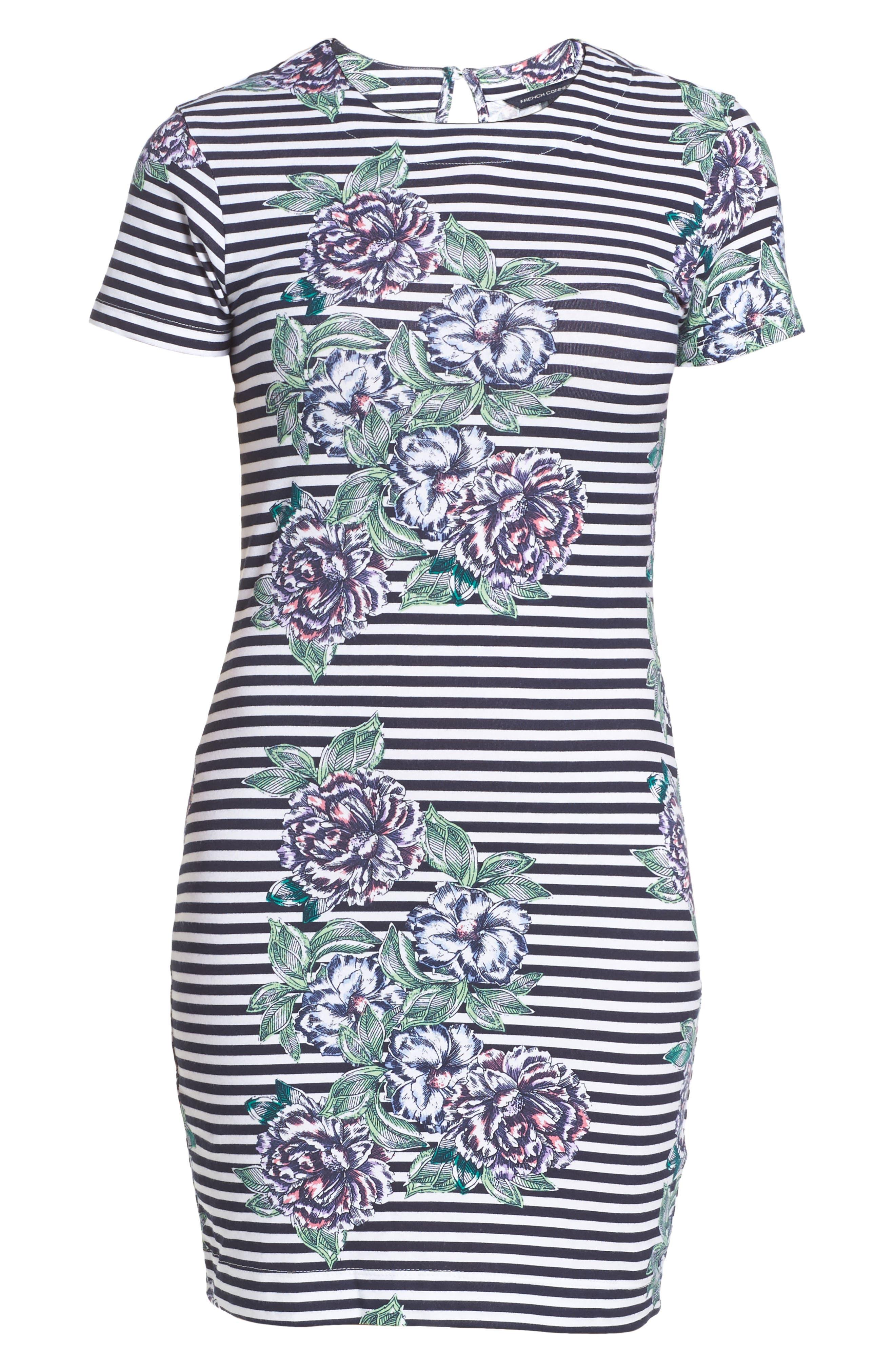 Bonita Trail T-Shirt Dress,                             Alternate thumbnail 6, color,                             432
