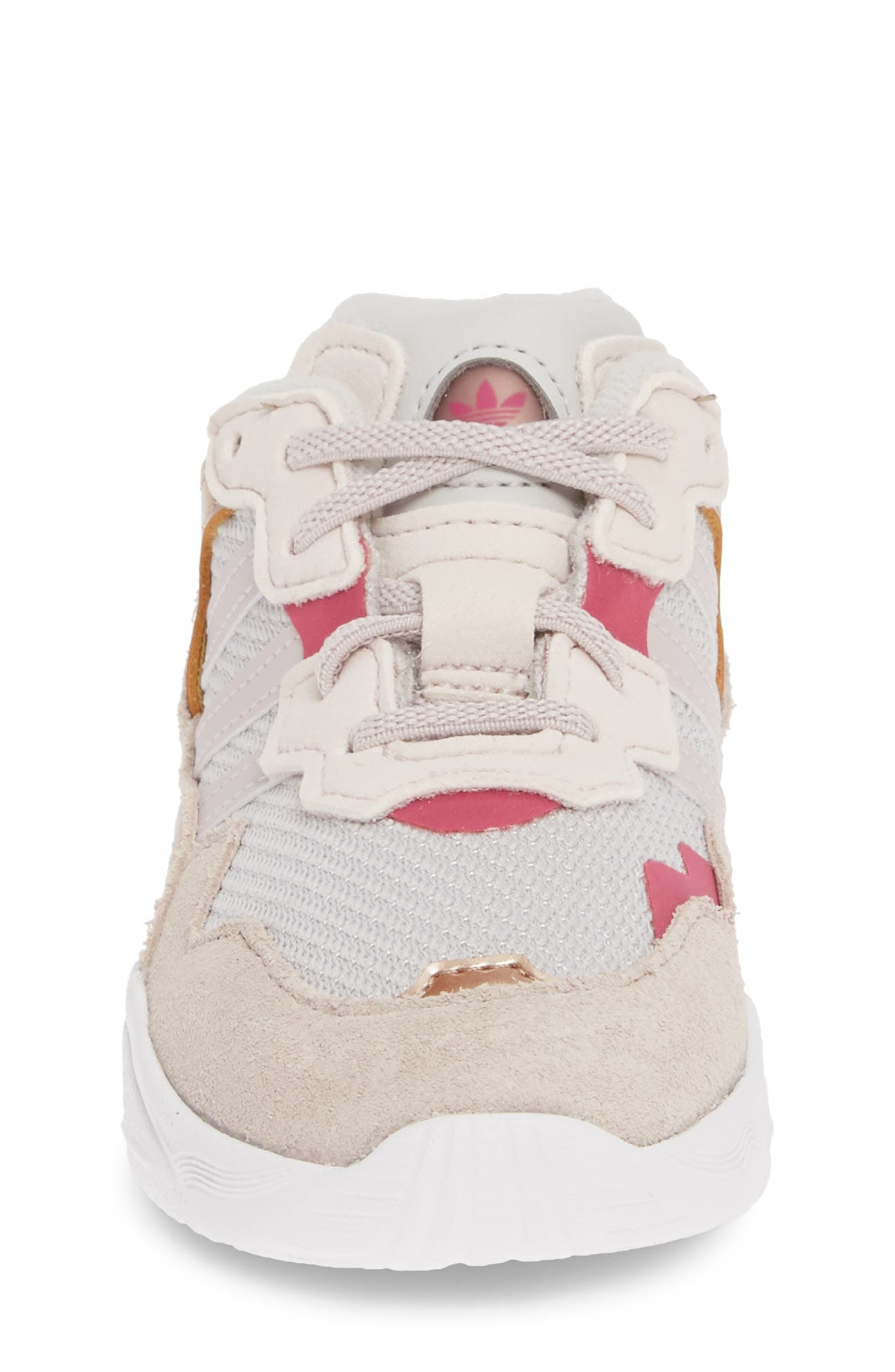 Yung-96 Sneaker,                             Alternate thumbnail 4, color,                             GREY TWO/ ORCHID/ TRUE PINK