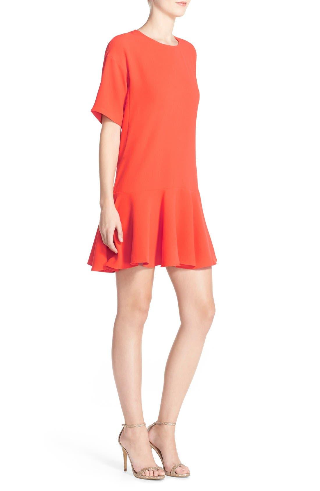 Drop Waist Knit Dress,                             Alternate thumbnail 16, color,