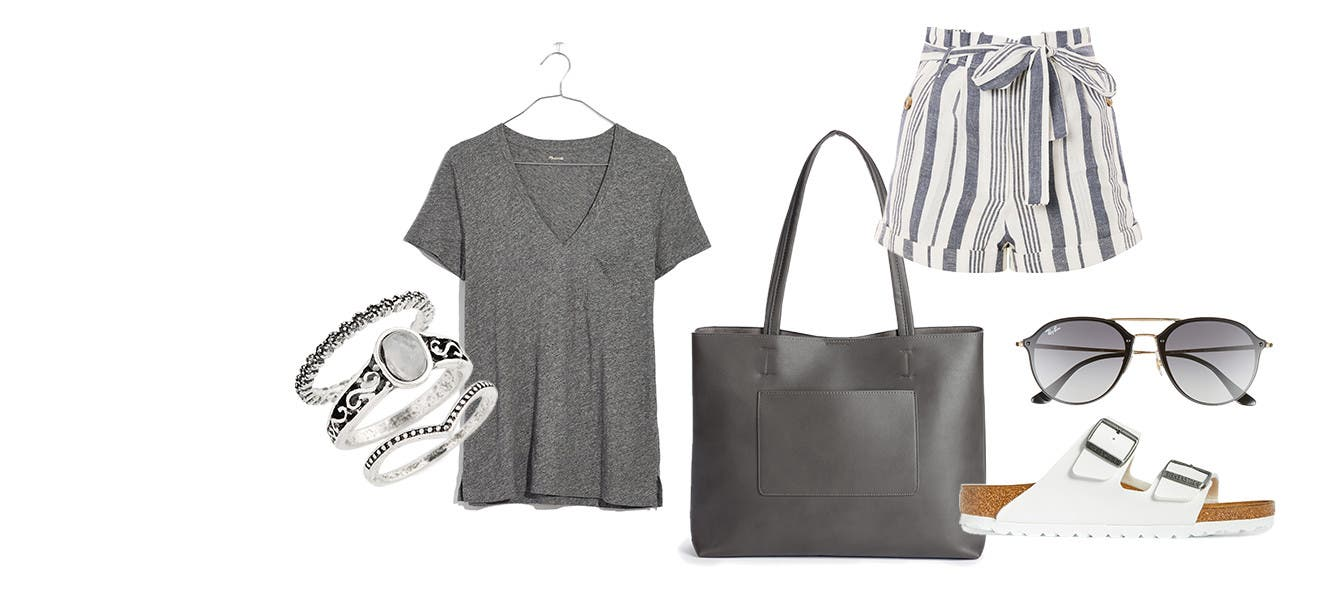 Your look: relaxed weekend.