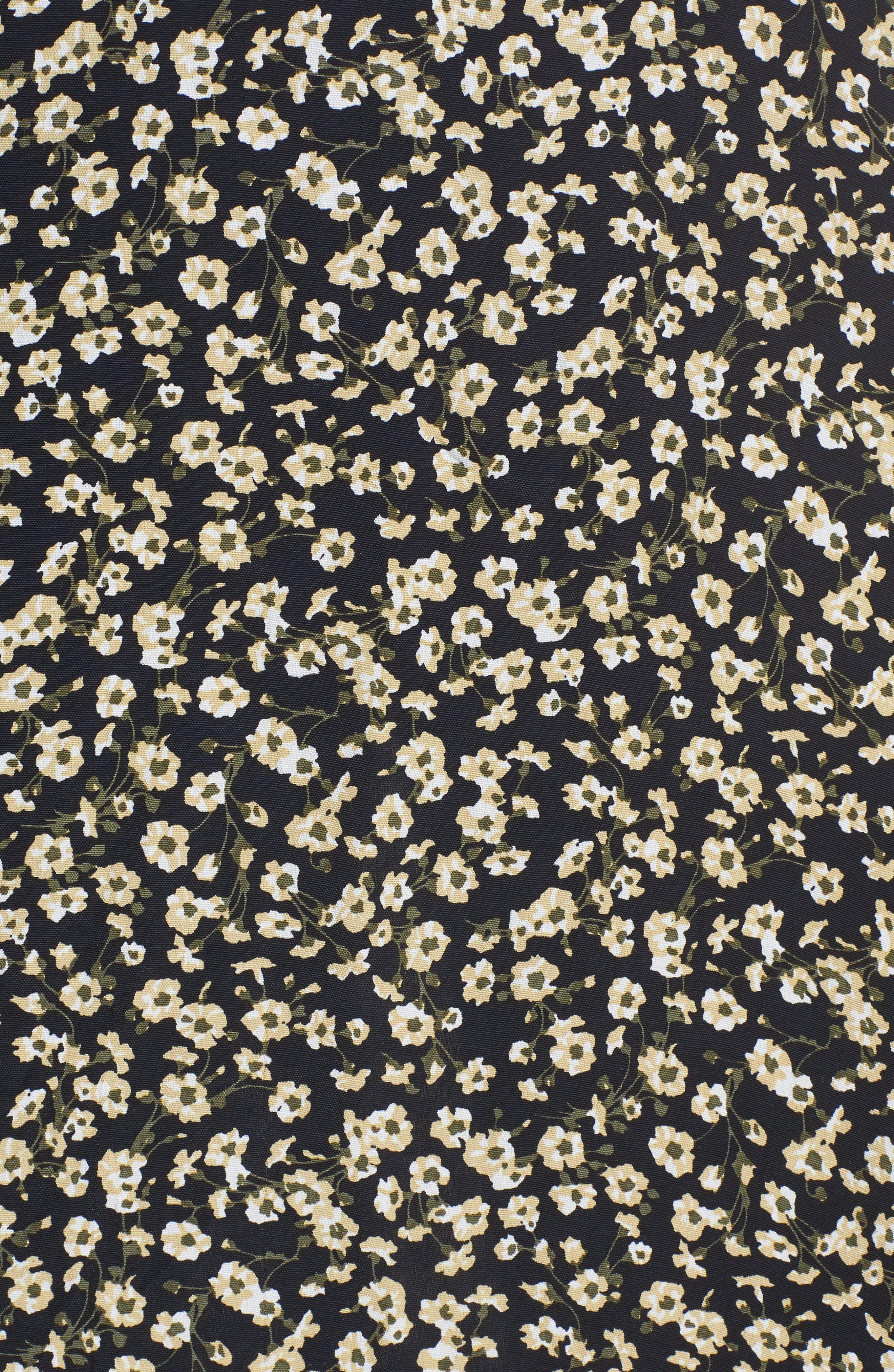 Massimo Tie Front Midi Dress,                             Alternate thumbnail 5, color,                             700