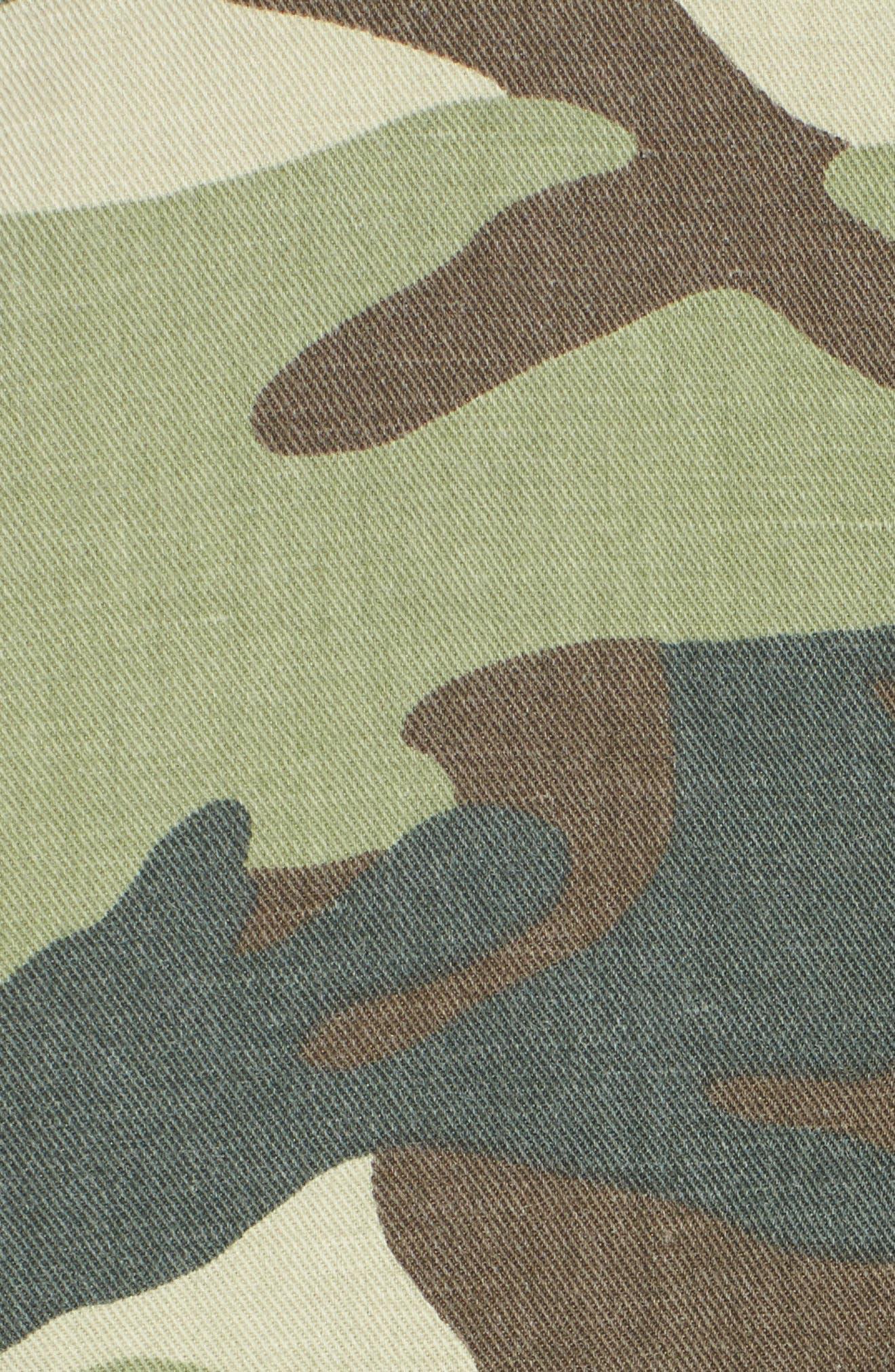 The Loose Veteran Camo Jacket,                             Alternate thumbnail 7, color,                             315