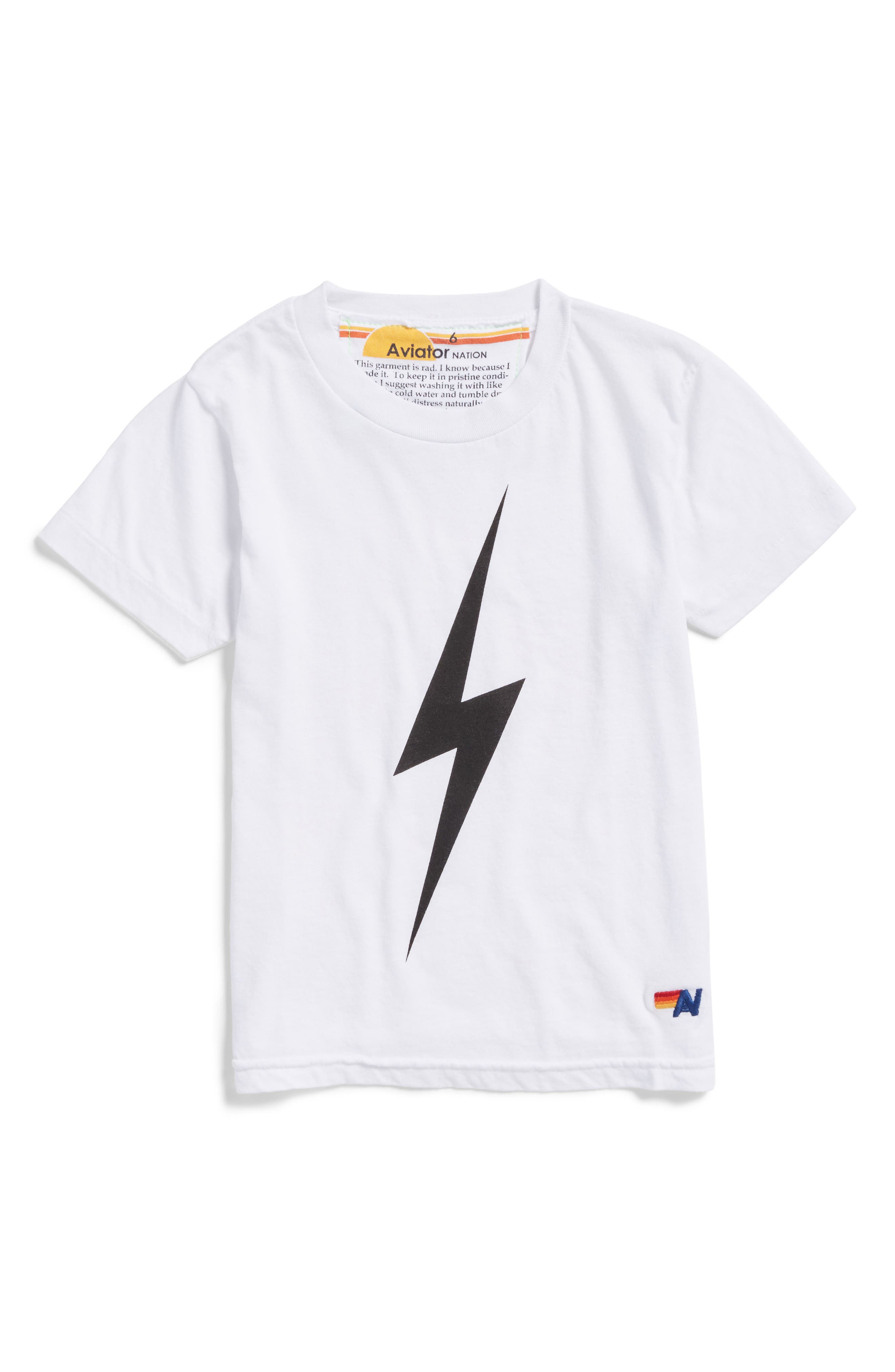 Bolt Graphic Tee,                         Main,                         color, 100