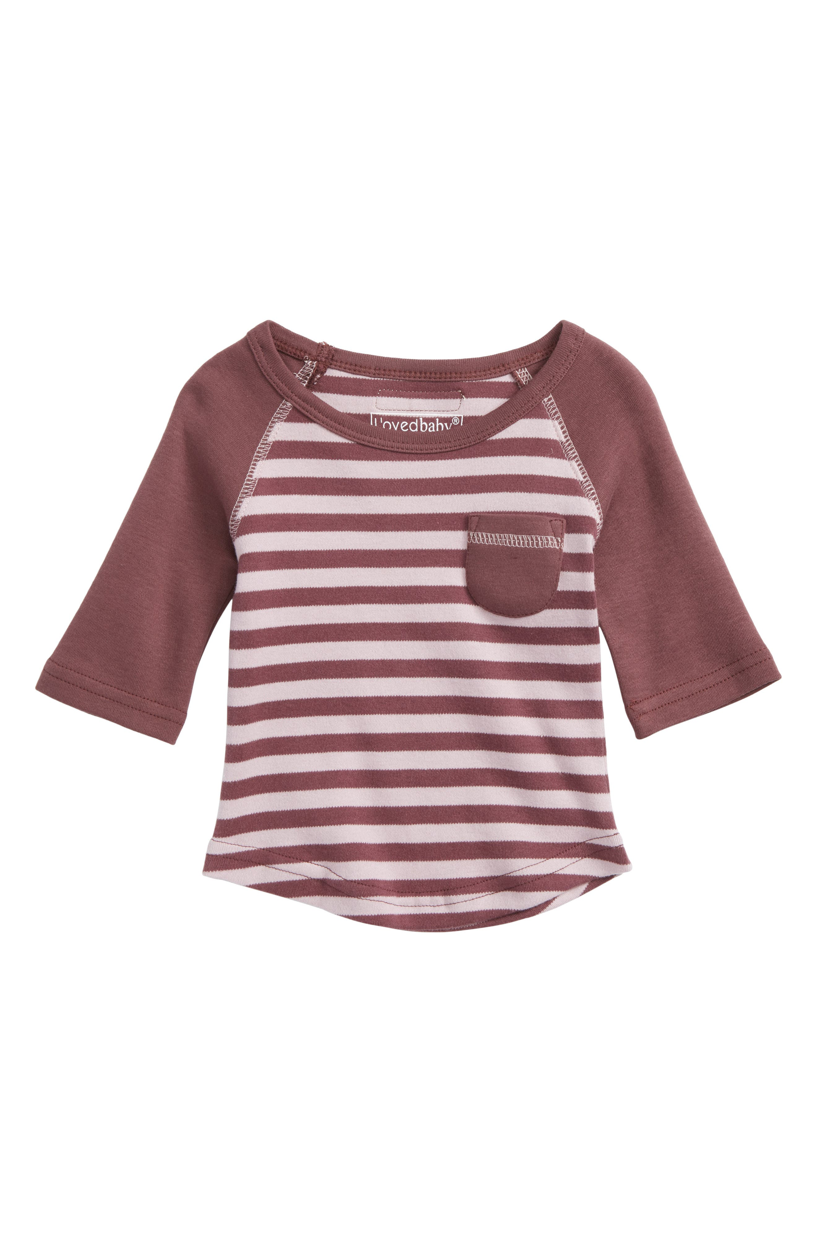 L'OVEDBABY,                             Organic Cotton Tee,                             Main thumbnail 1, color,                             500