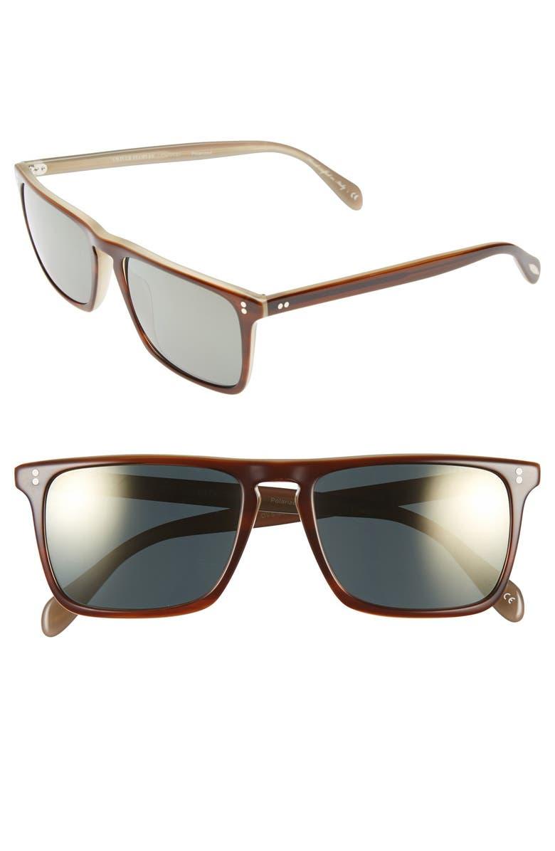 4d96203179 Oliver Peoples  Bernardo  54mm Polarized Square Sunglasses
