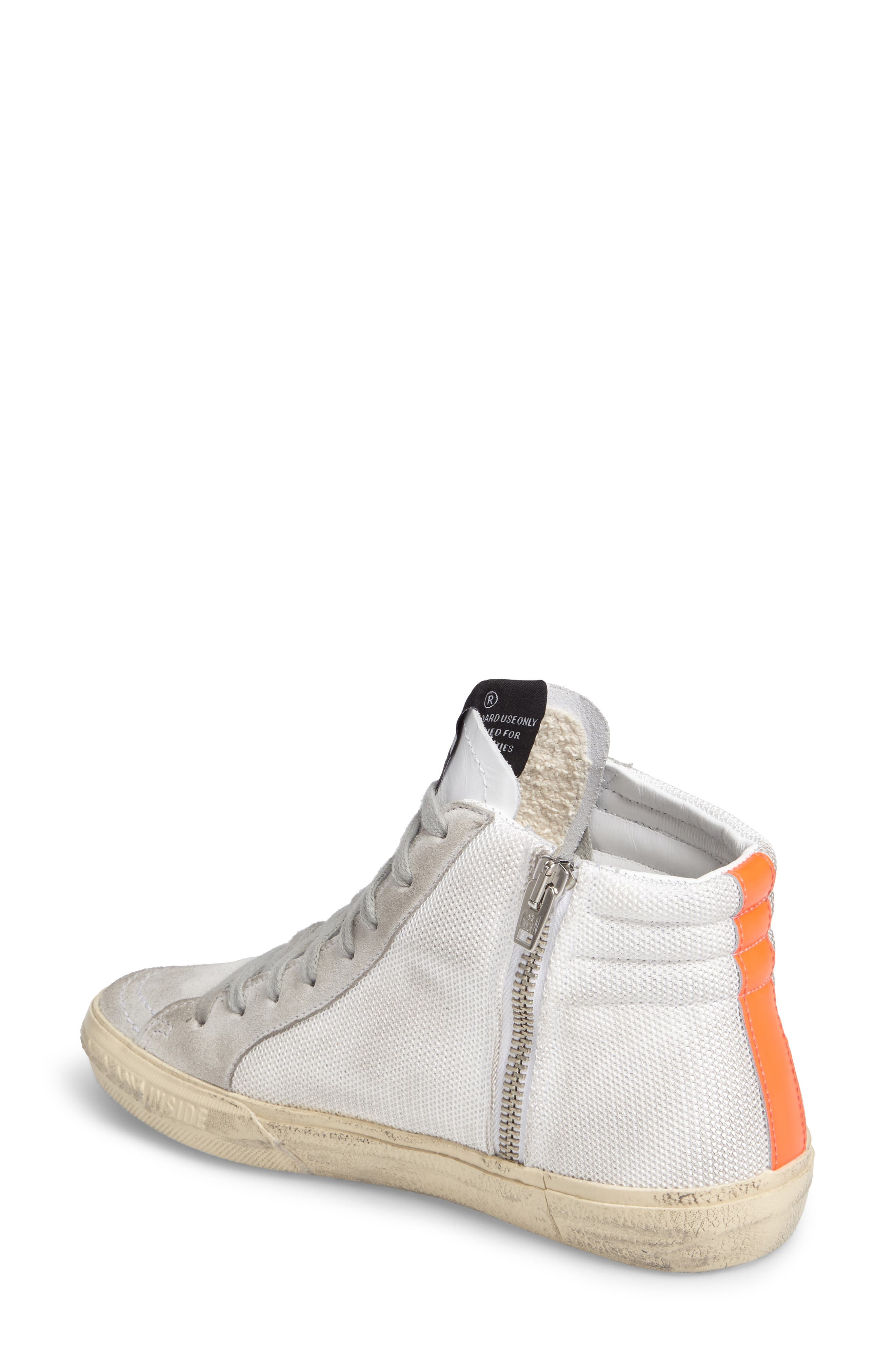 Slide High Top Sneaker,                             Alternate thumbnail 2, color,                             100