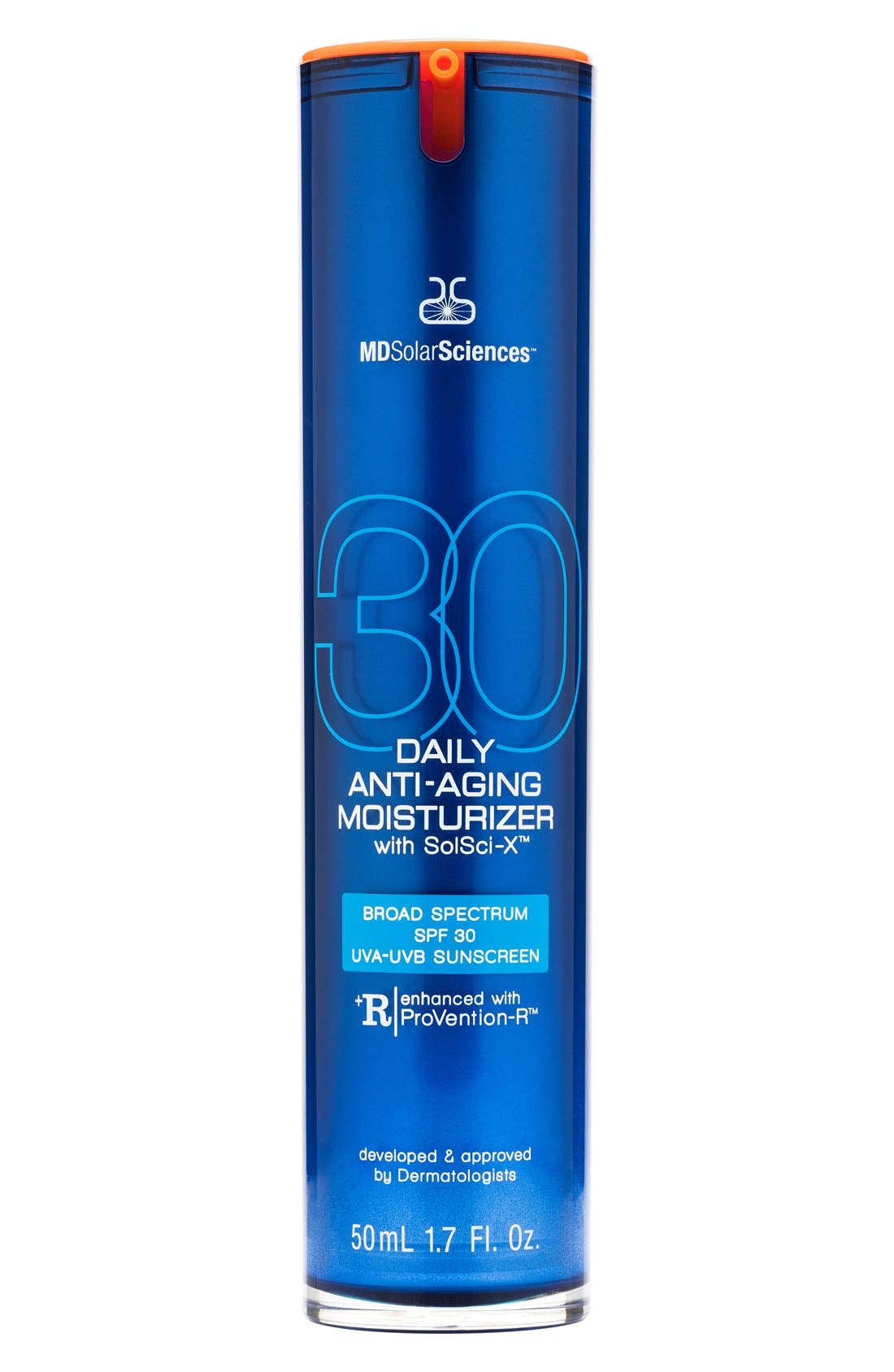 Daily Anti-Aging Moisturizer with SolSci-X<sup>™</sup> Broad Spectrum SPF 30 UVA-UVB Sunscreen,                             Main thumbnail 1, color,                             000