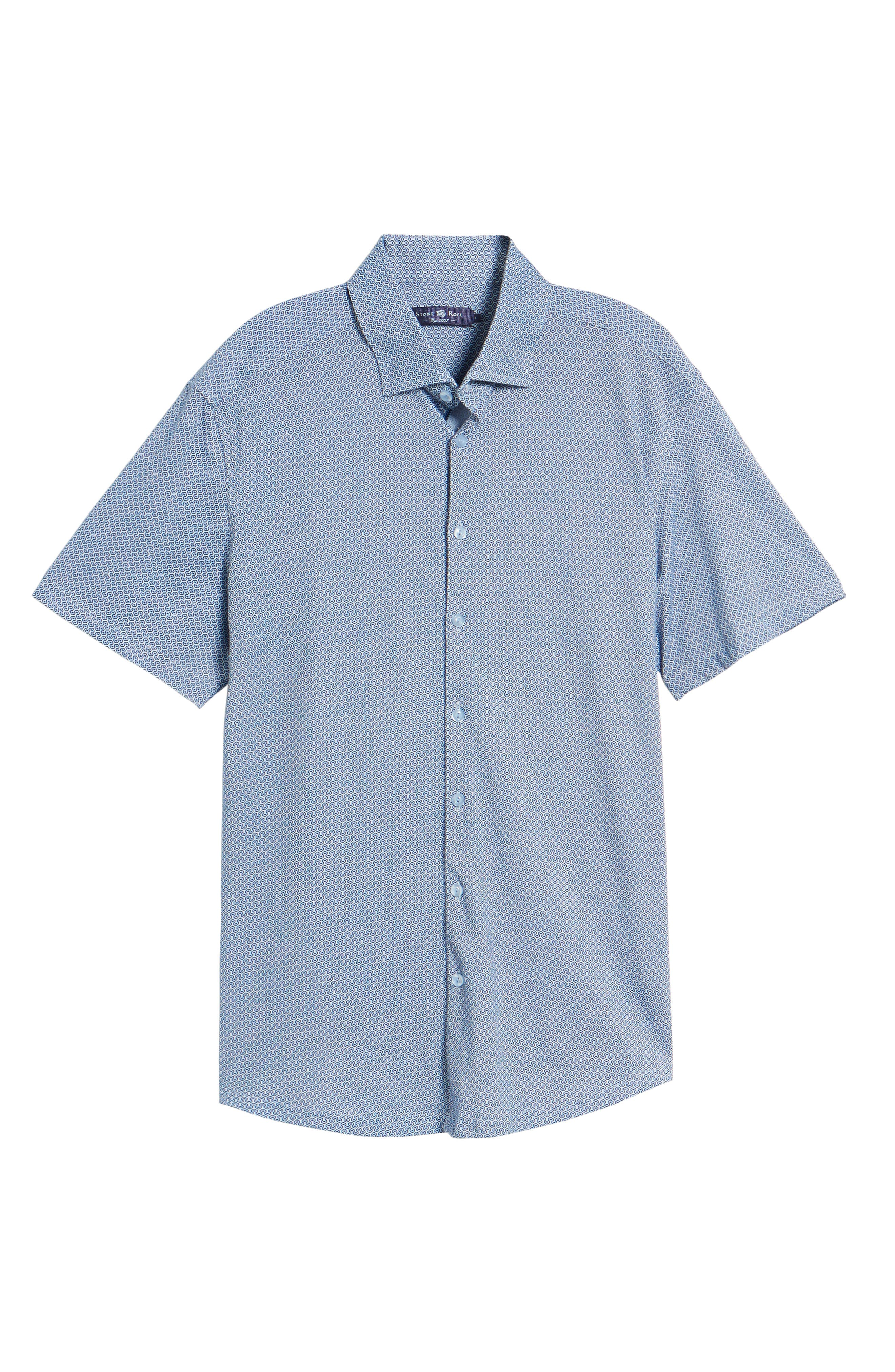 Knit Sport Shirt,                             Alternate thumbnail 6, color,                             400
