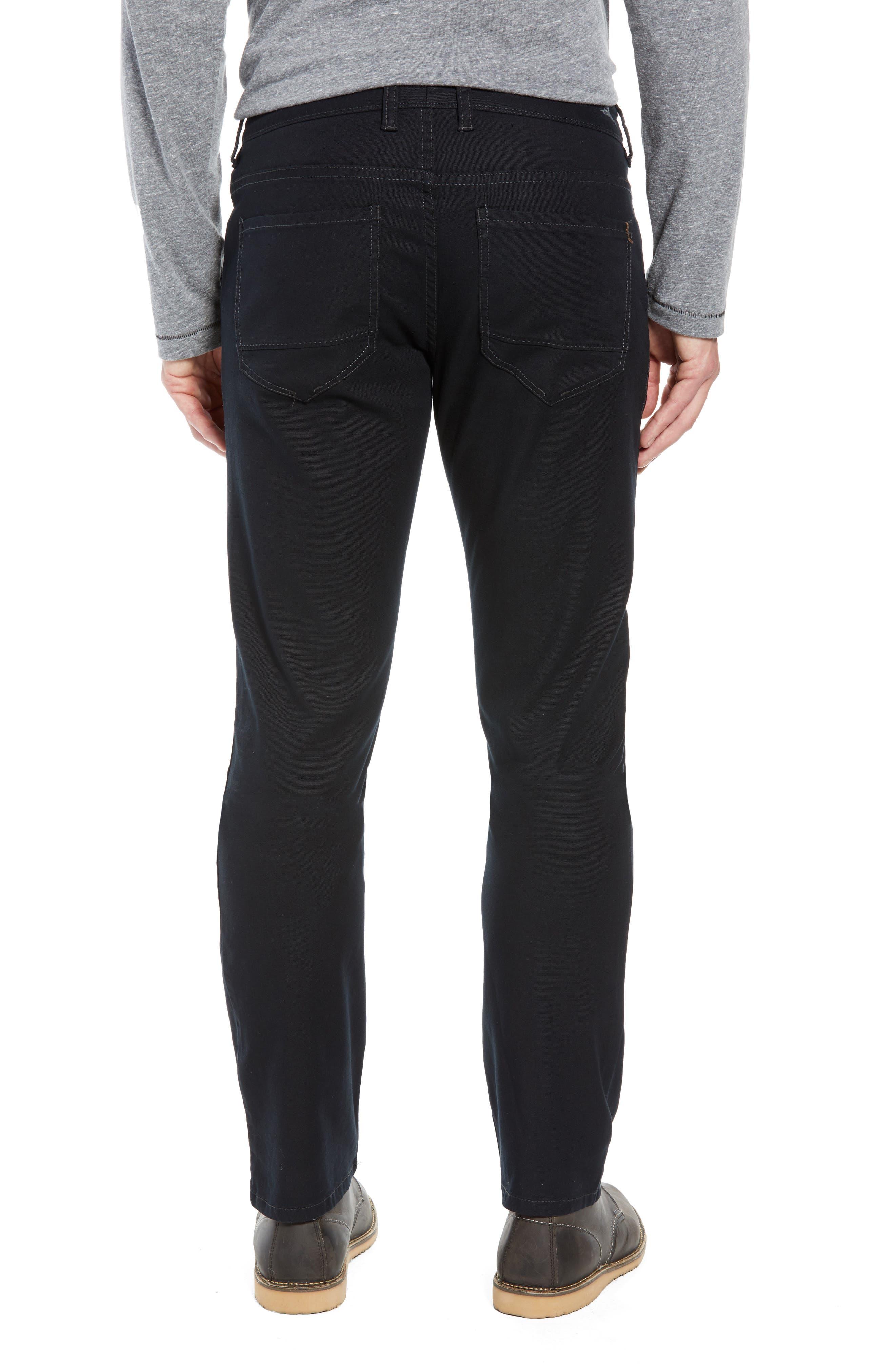 Key Isles Regular Fit Pants,                             Alternate thumbnail 2, color,                             BLACK