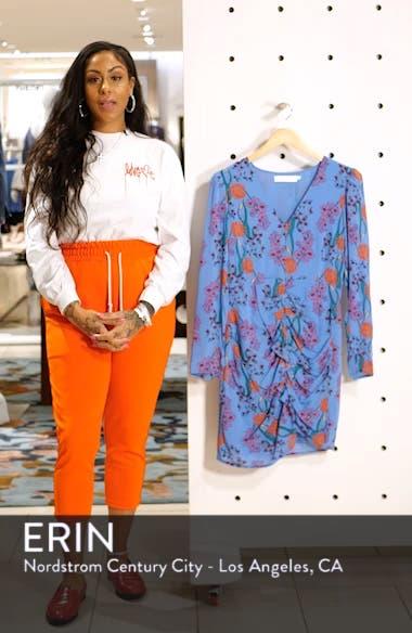 Vignette Floral Print Dress, sales video thumbnail