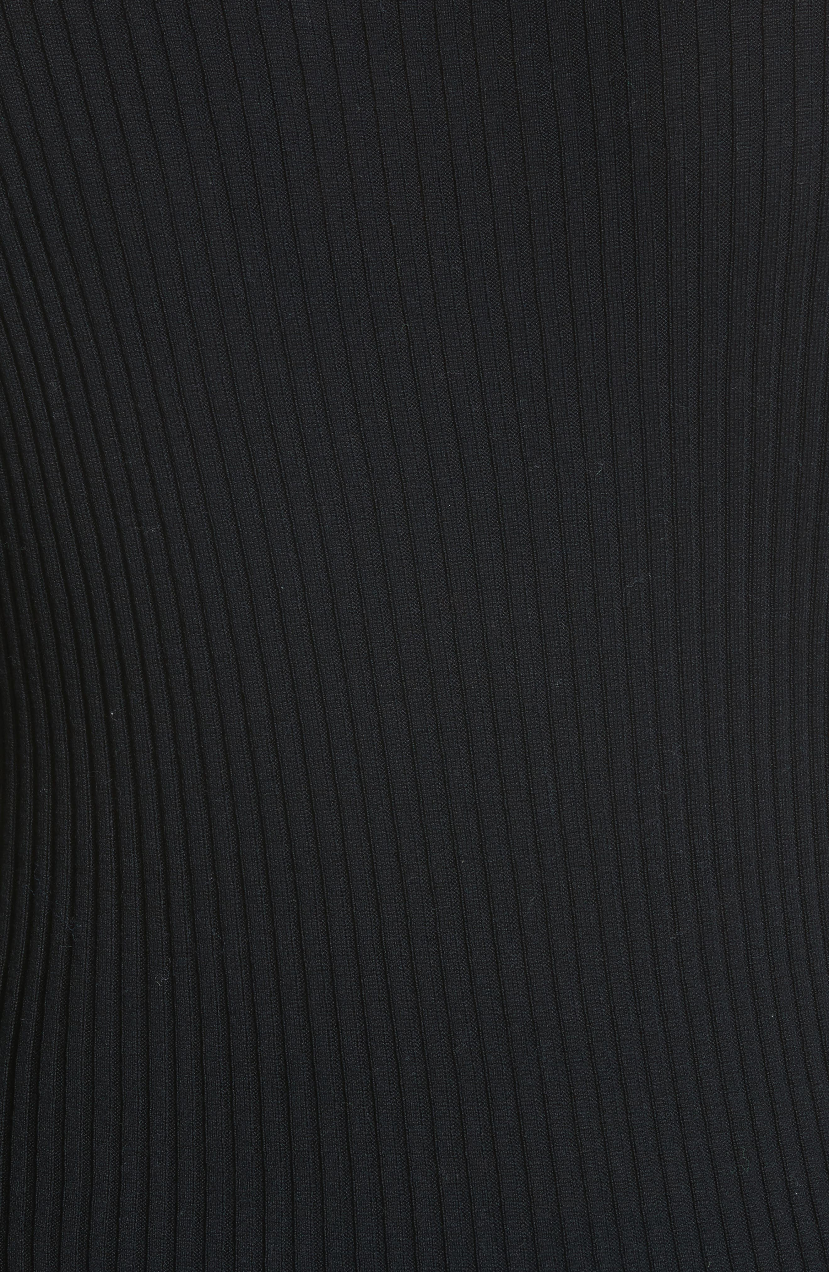 Le Cardigan Tordu Cardigan,                             Alternate thumbnail 5, color,