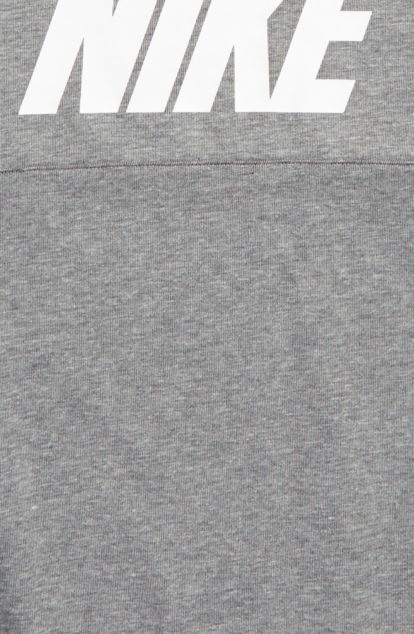 Colorblock Raglan Logo Sweatshirt,                             Alternate thumbnail 5, color,