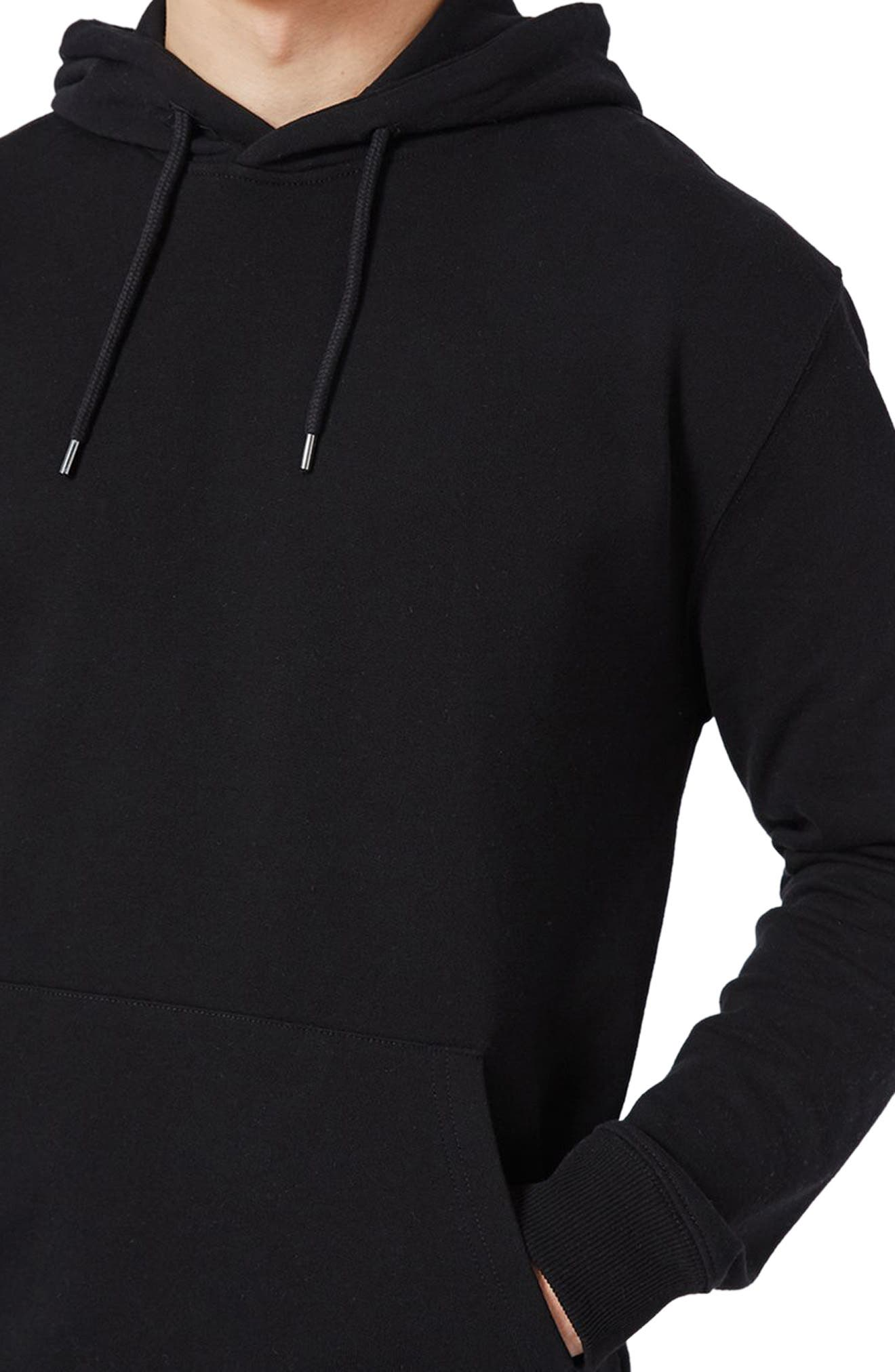 Classic Fit Hoodie,                             Alternate thumbnail 3, color,                             001