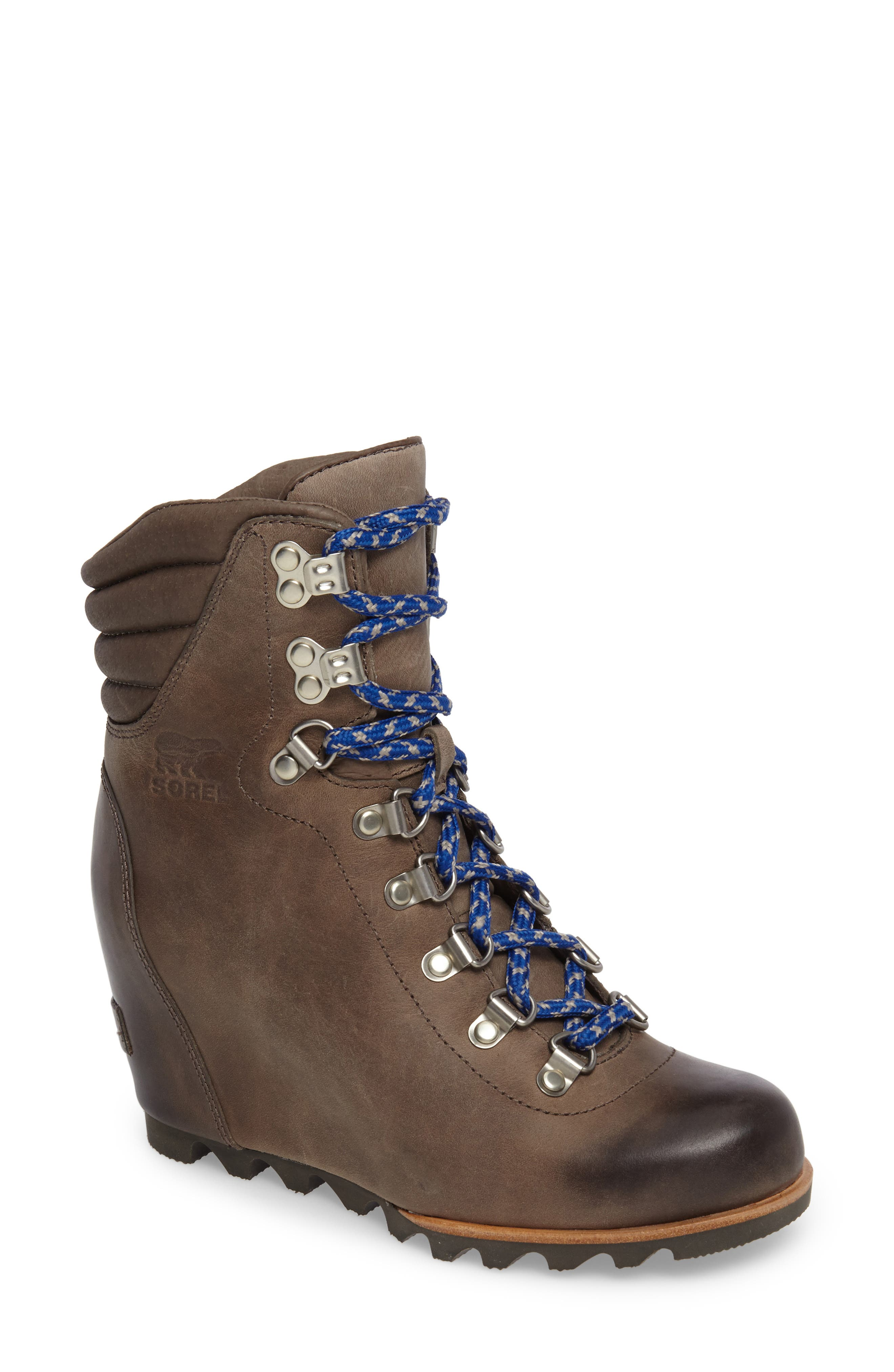 'Conquest' Waterproof Wedge Boot,                             Main thumbnail 2, color,