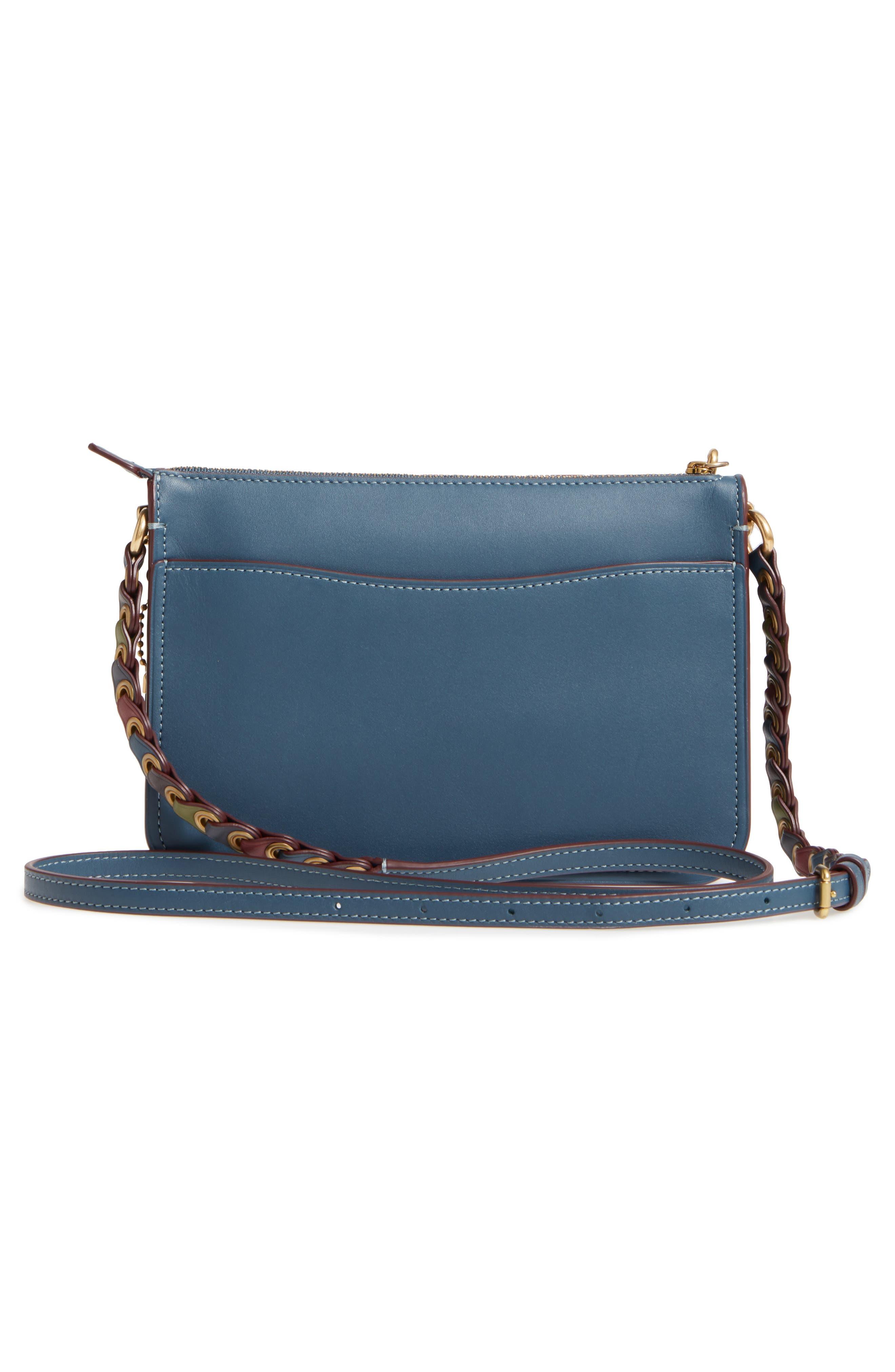 Soho Leather Crossbody Bag,                             Alternate thumbnail 3, color,