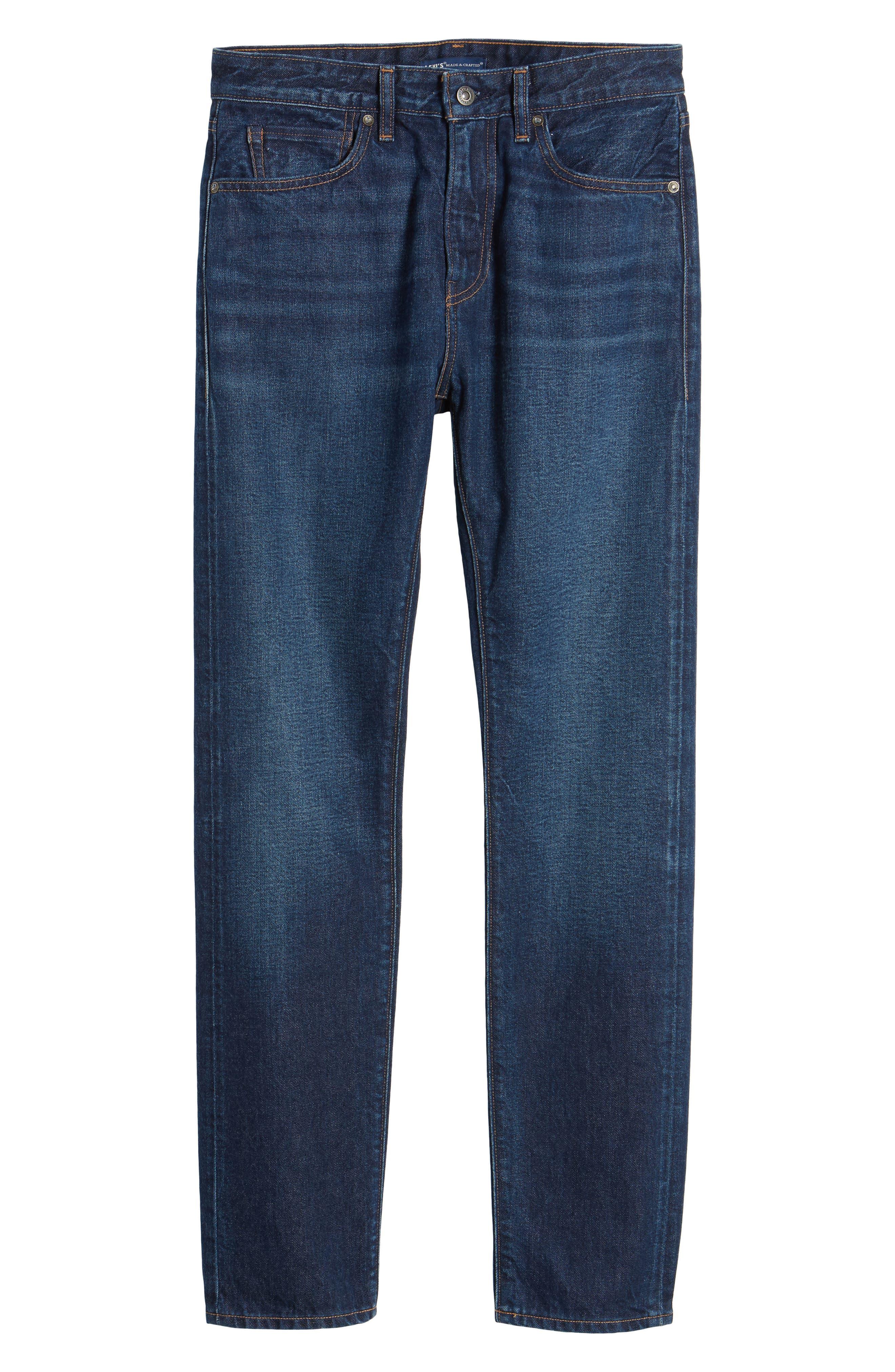 Tack Slim Fit Jeans,                             Alternate thumbnail 6, color,                             401