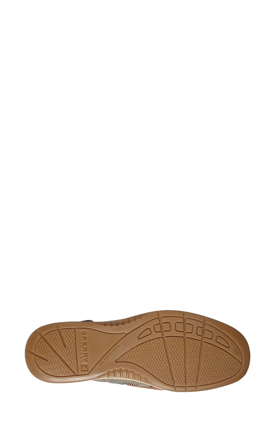 Top-Sider<sup>®</sup> 'Angelfish' Boat Shoe,                             Alternate thumbnail 3, color,                             001