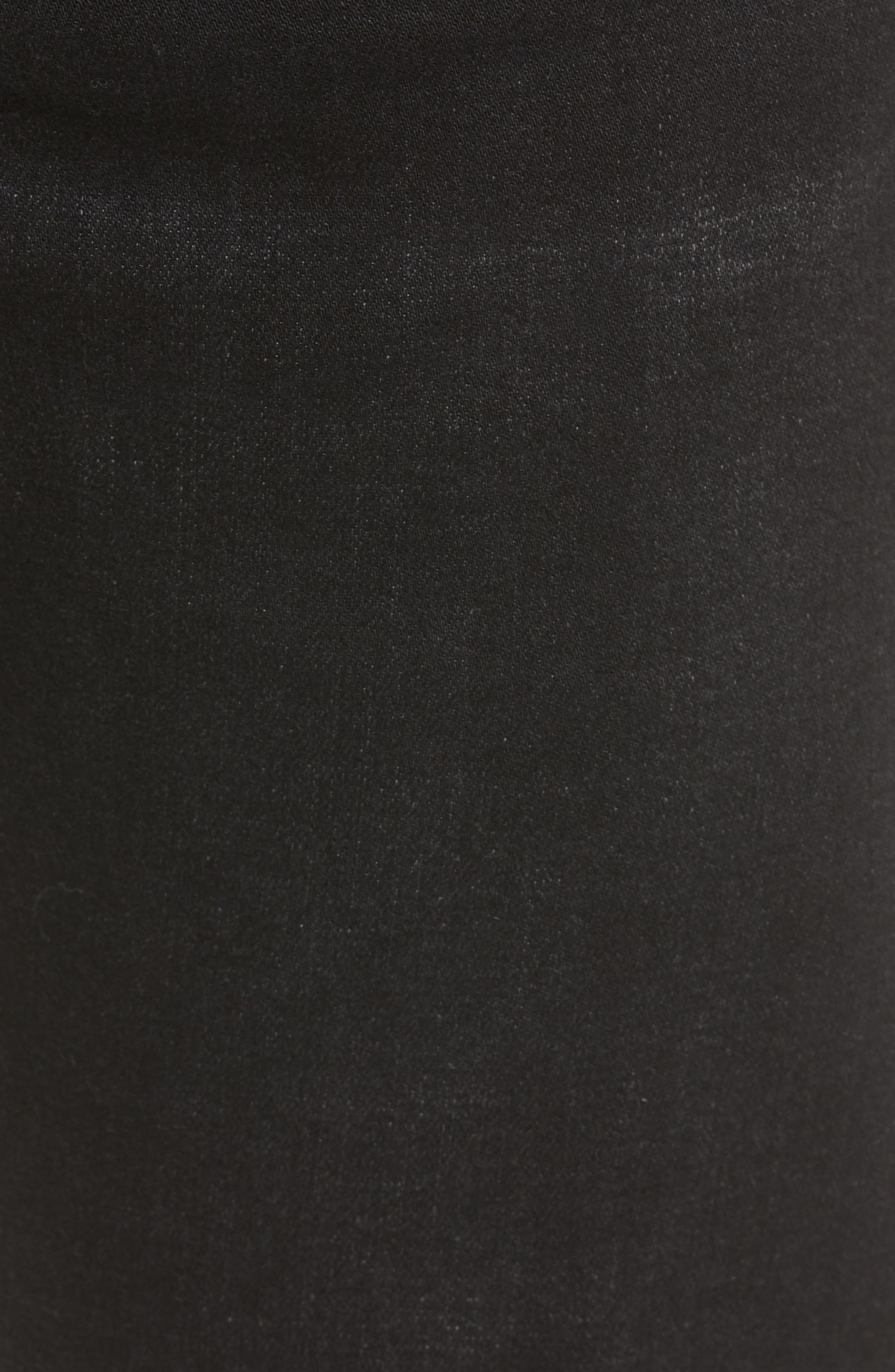 Kingston Slim Straight Leg Jeans,                             Alternate thumbnail 5, color,                             BULLET DARK
