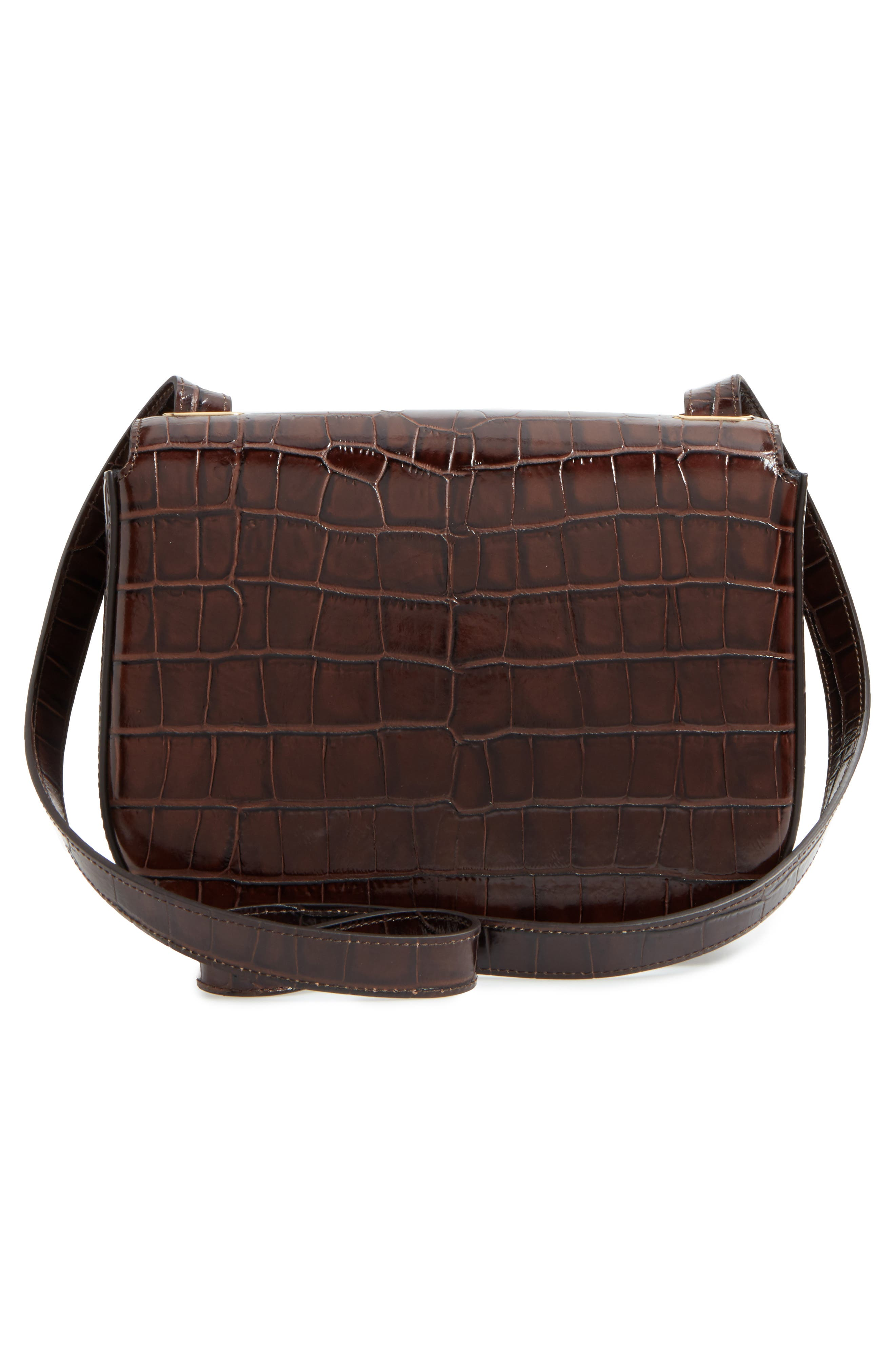 MULBERRY,                             Selwood Leather Saddle Bag,                             Alternate thumbnail 3, color,                             200