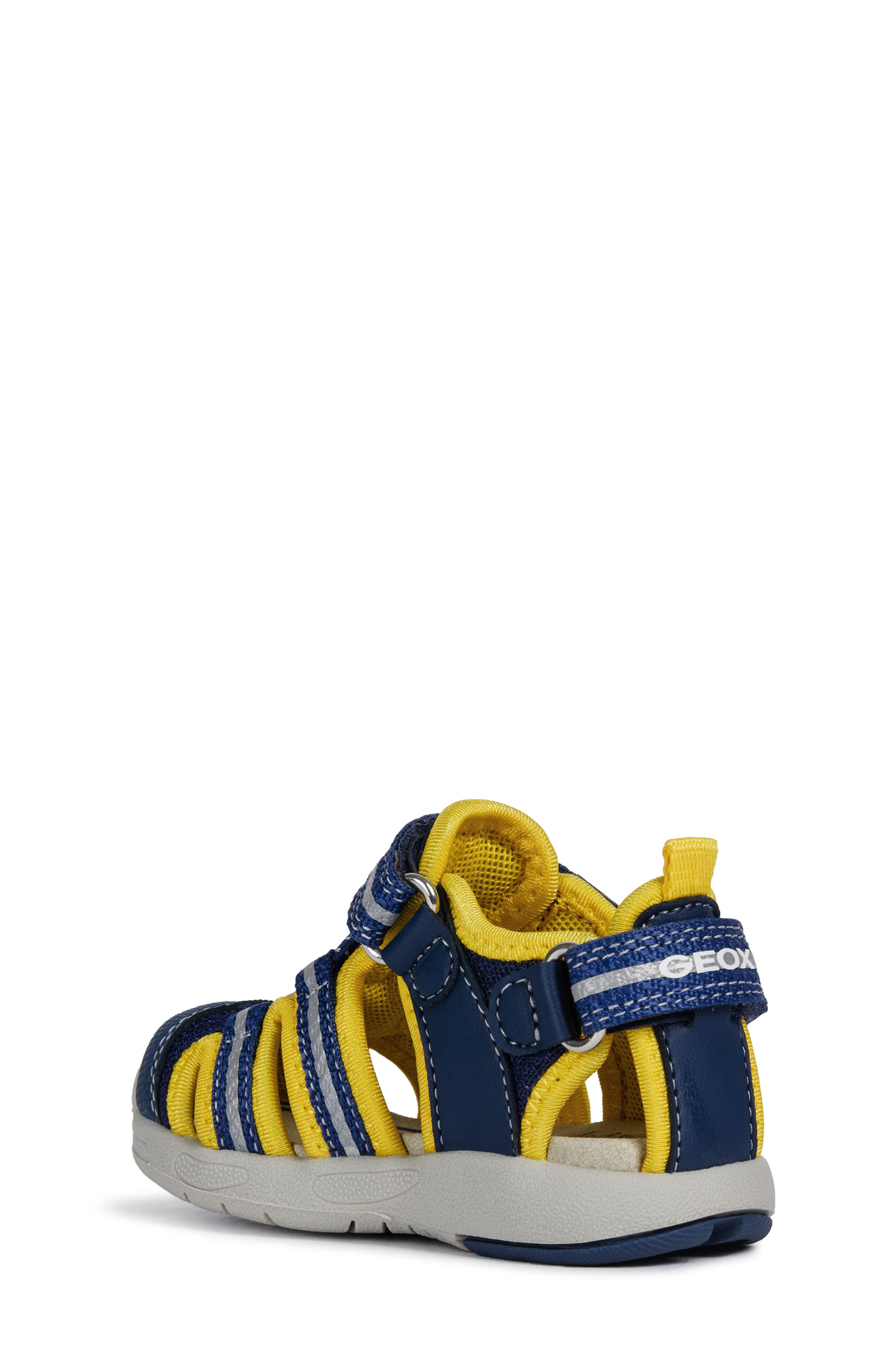 Multy Water Friendly Sandal,                             Alternate thumbnail 2, color,                             NAVY/ YELLOW