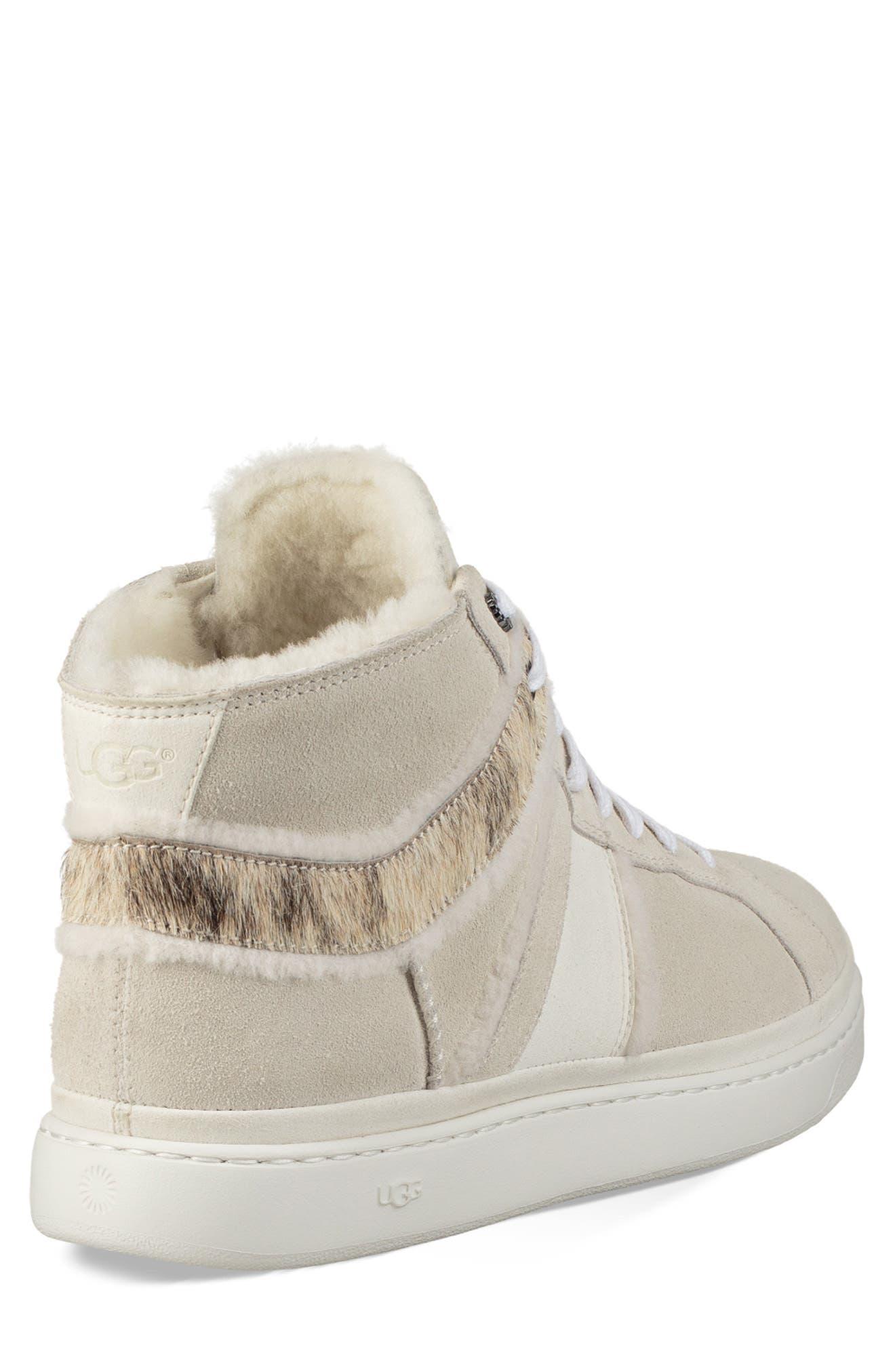 Cali High Top Sneaker,                             Alternate thumbnail 2, color,                             WHITE