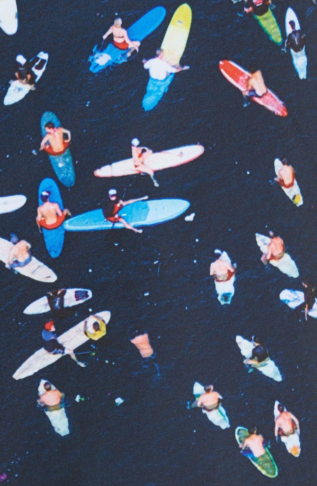 'Phantom Block Party - Ben Carlson Foundation' Scalloped Board Shorts,                             Alternate thumbnail 5, color,                             419