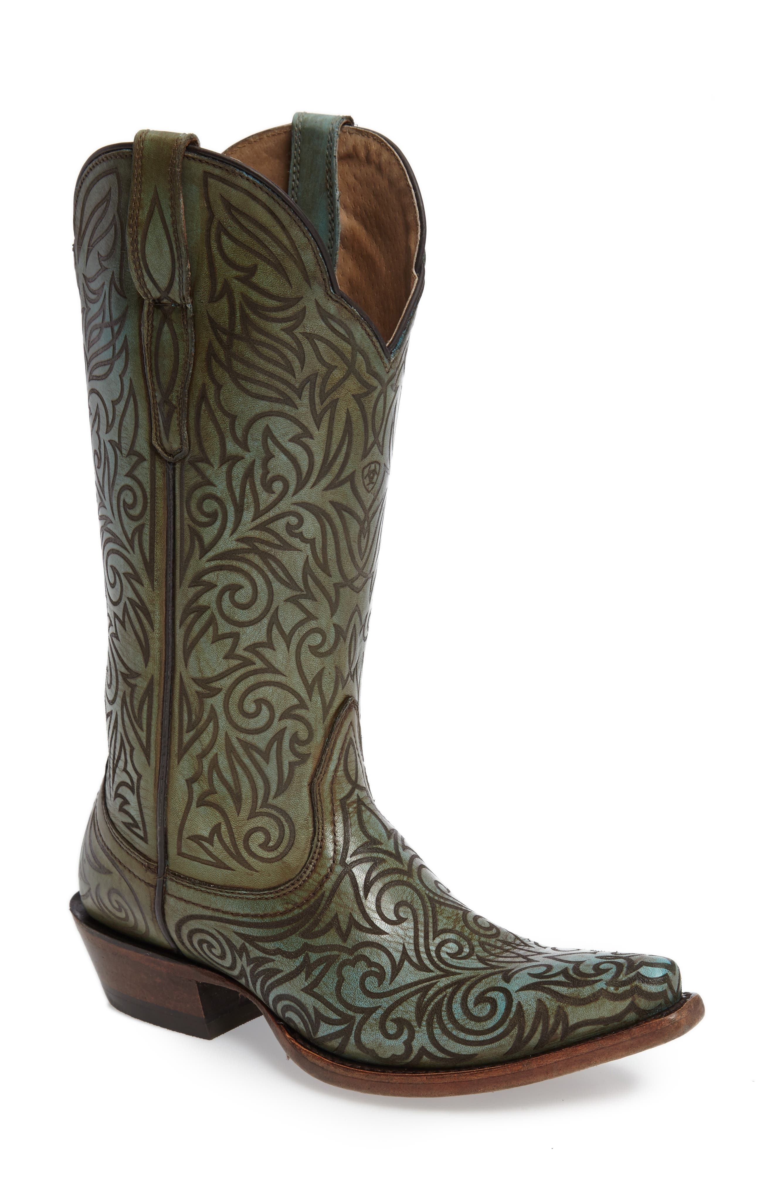 Sterling Western Boot,                             Main thumbnail 1, color,                             400