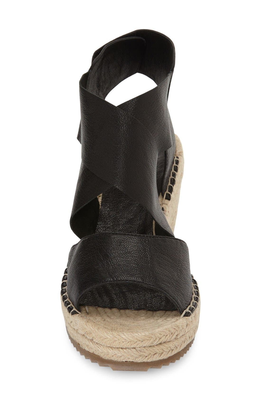 'Willow' Espadrille Wedge Sandal,                             Alternate thumbnail 2, color,                             001
