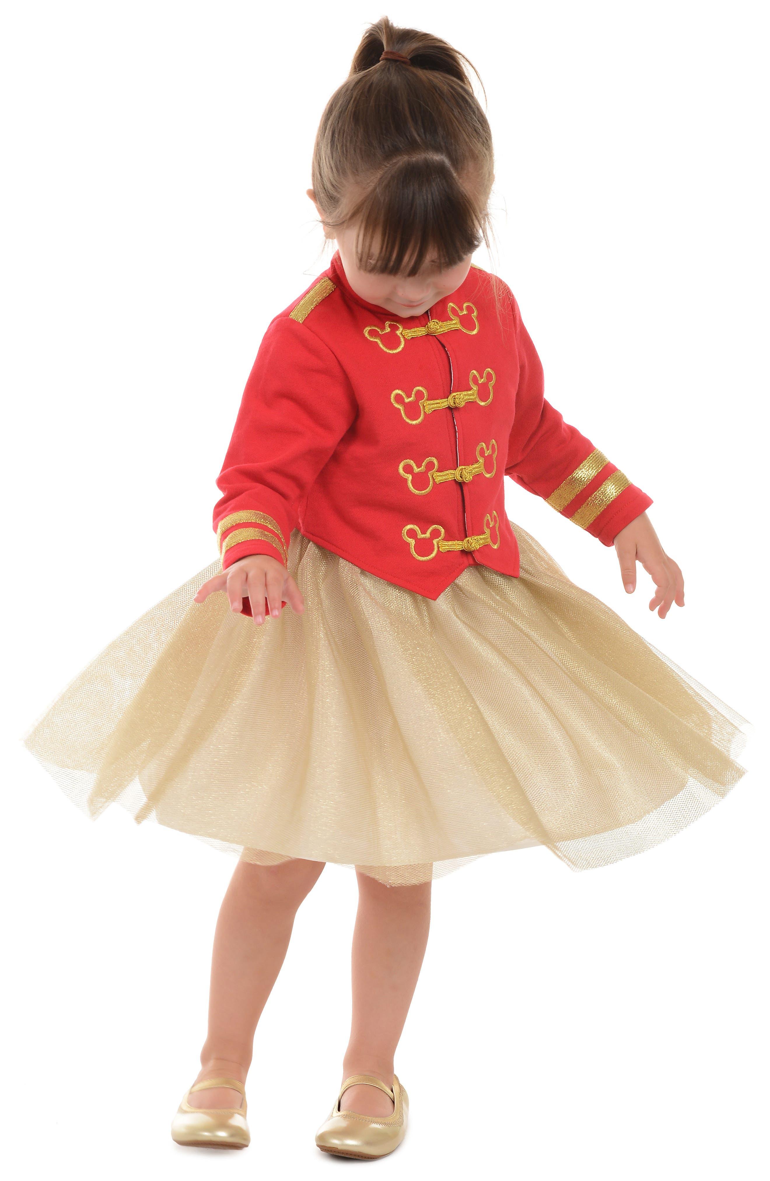 PIPPA & JULIE,                             x Disney<sup>®</sup> Mickey Mouse<sup>®</sup> Majorette Jacket & Tank Dress Set,                             Alternate thumbnail 5, color,                             643