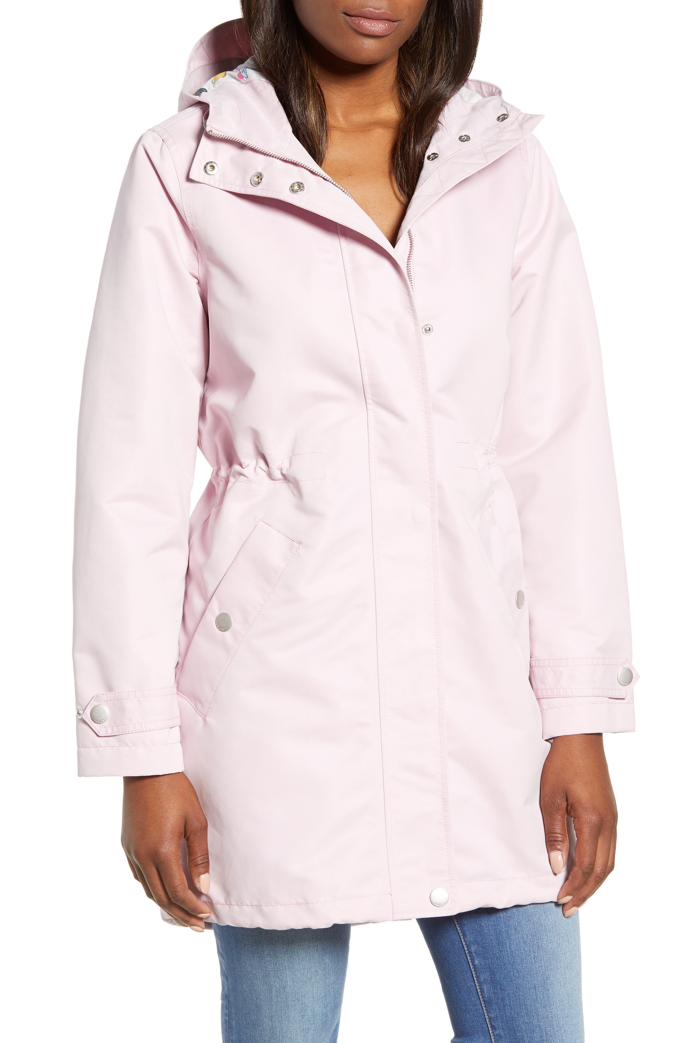 Right as Rain Long Line Hooded Waterproof Raincoat,                             Alternate thumbnail 4, color,                             531