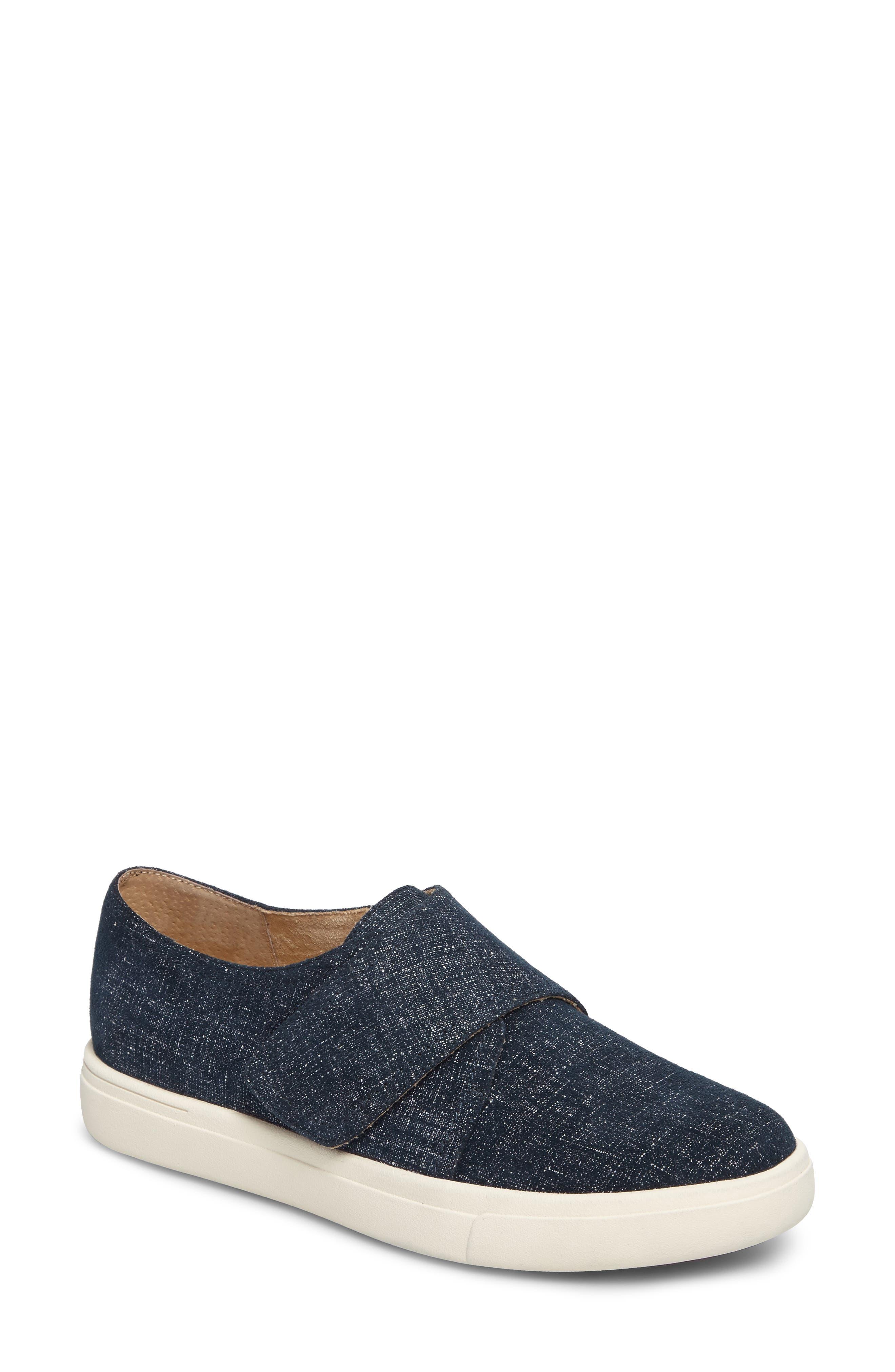 VANELI Oberon Slip-On Sneaker, Main, color, JEANS PRINTED SUEDE