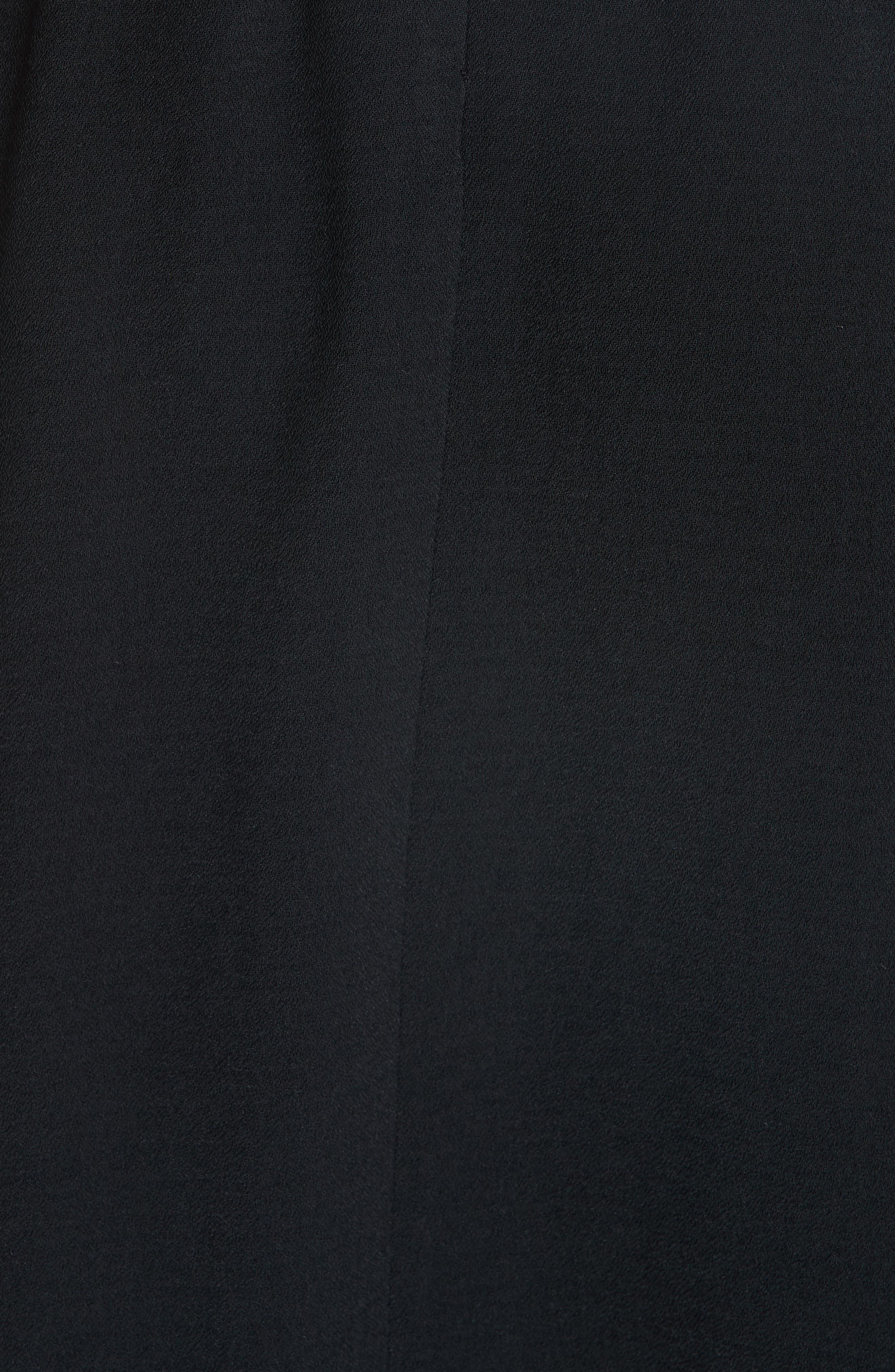 Carmen A-Line Skirt,                             Alternate thumbnail 5, color,                             NOIR