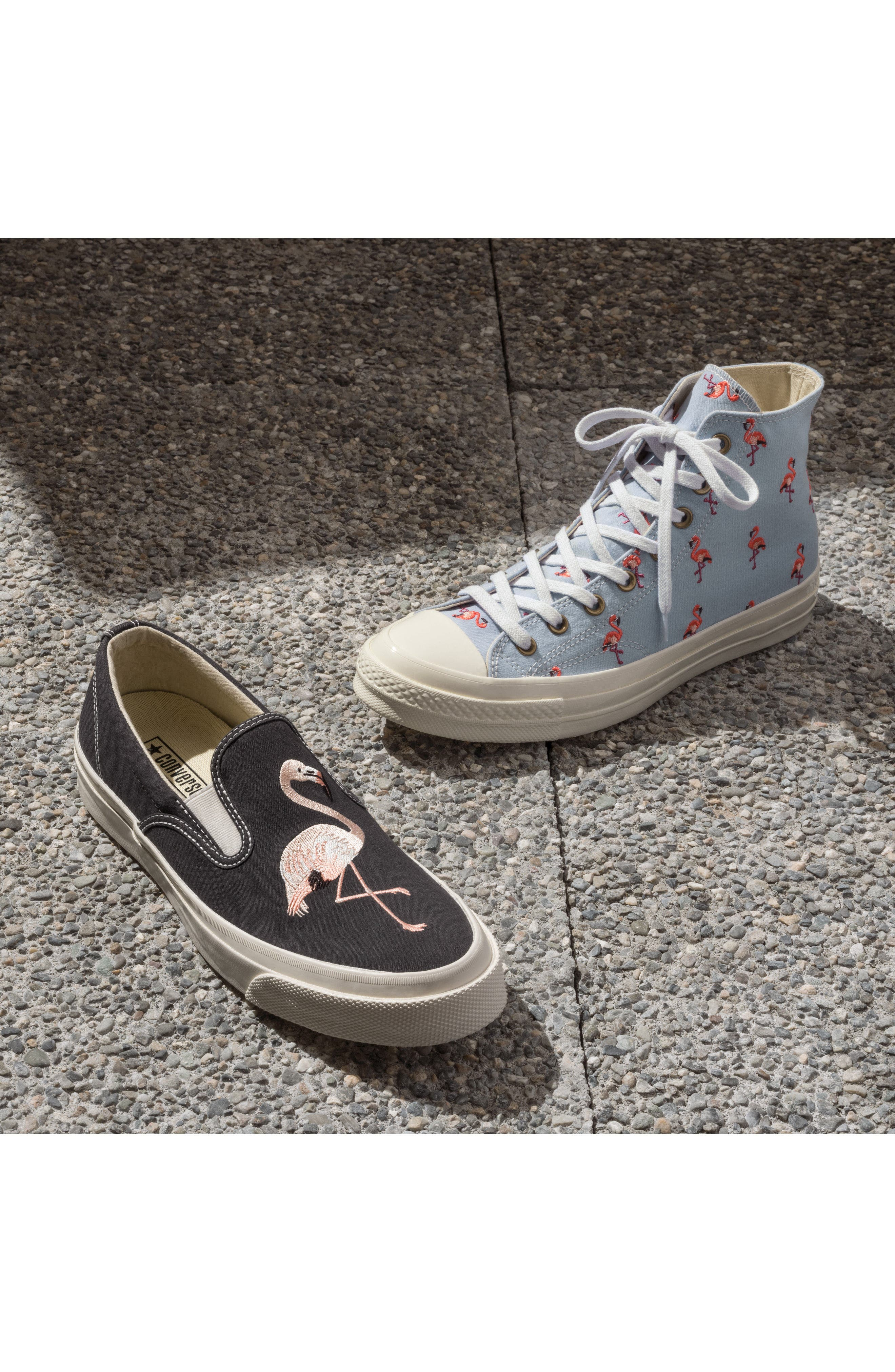 Chuck Taylor<sup>®</sup> All Star<sup>®</sup> Chuck 70 Flamingo Sneaker,                             Alternate thumbnail 7, color,                             457