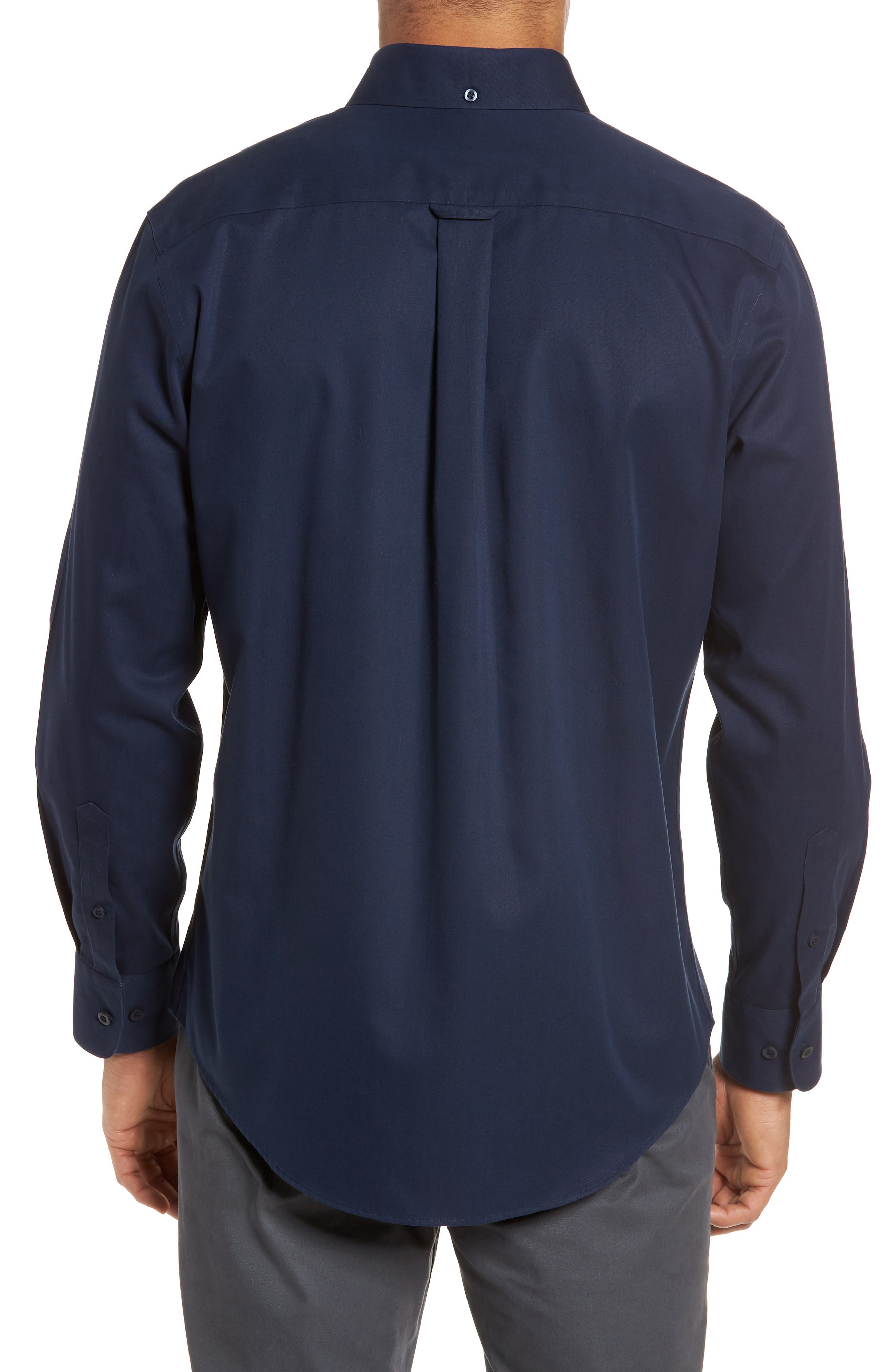 Smartcare<sup>™</sup> Traditional Fit Twill Boat Shirt,                             Alternate thumbnail 91, color,